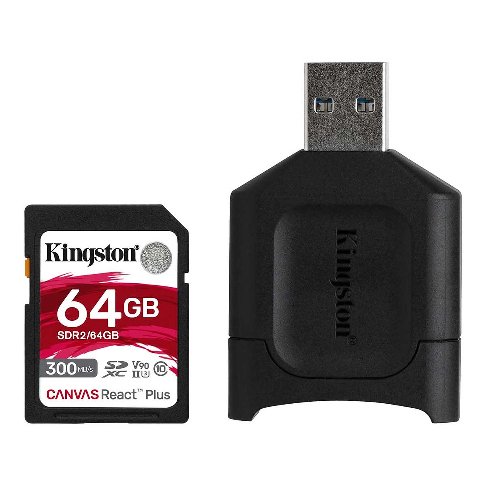 Kingston Canvas React Plus SDCR2/64GB