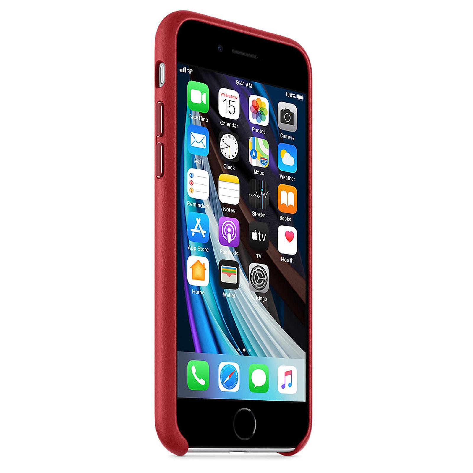 Apple Coque en cuir (PRODUCT)RED Apple iPhone SE