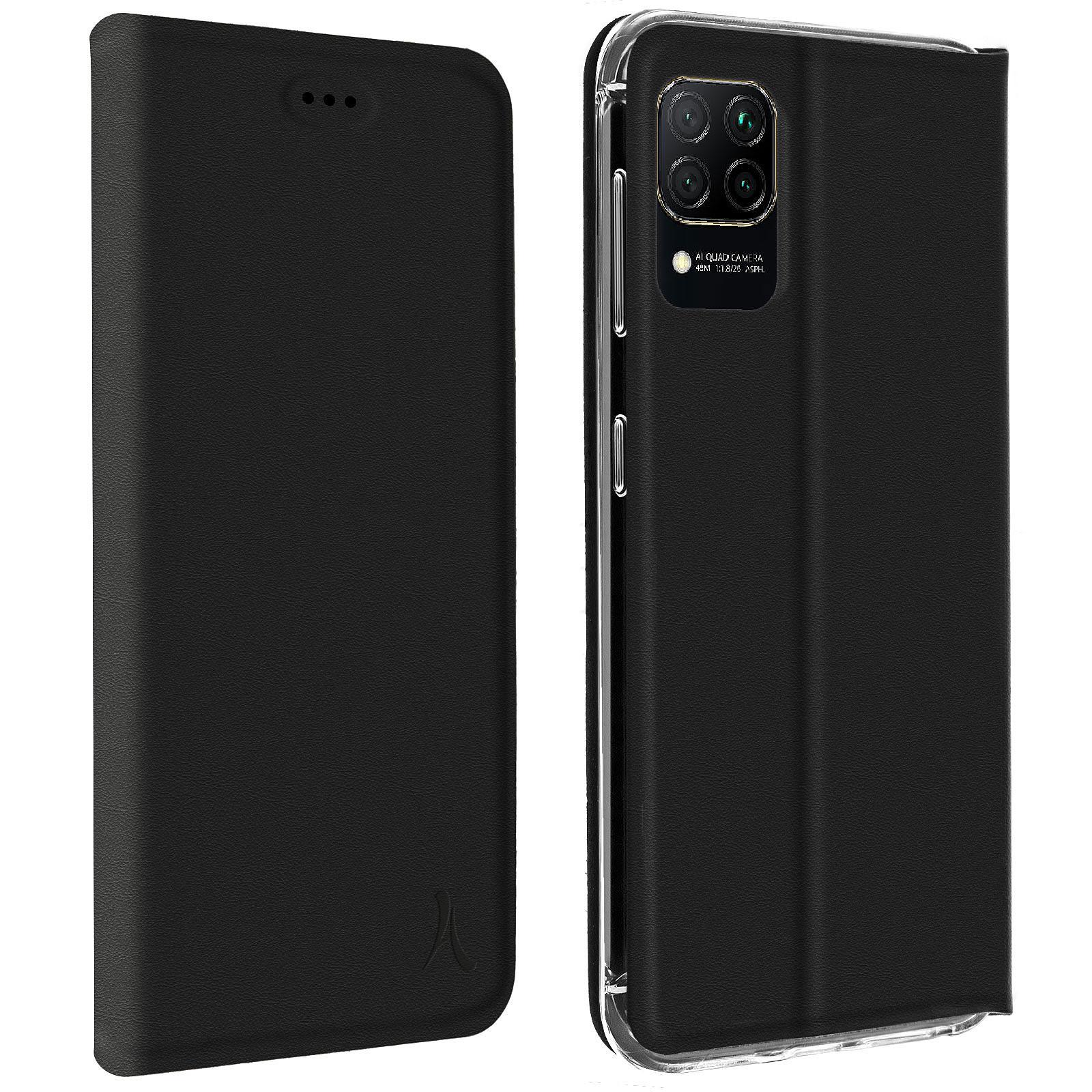 Akashi Etui Folio Noir Huawei P40 Lite