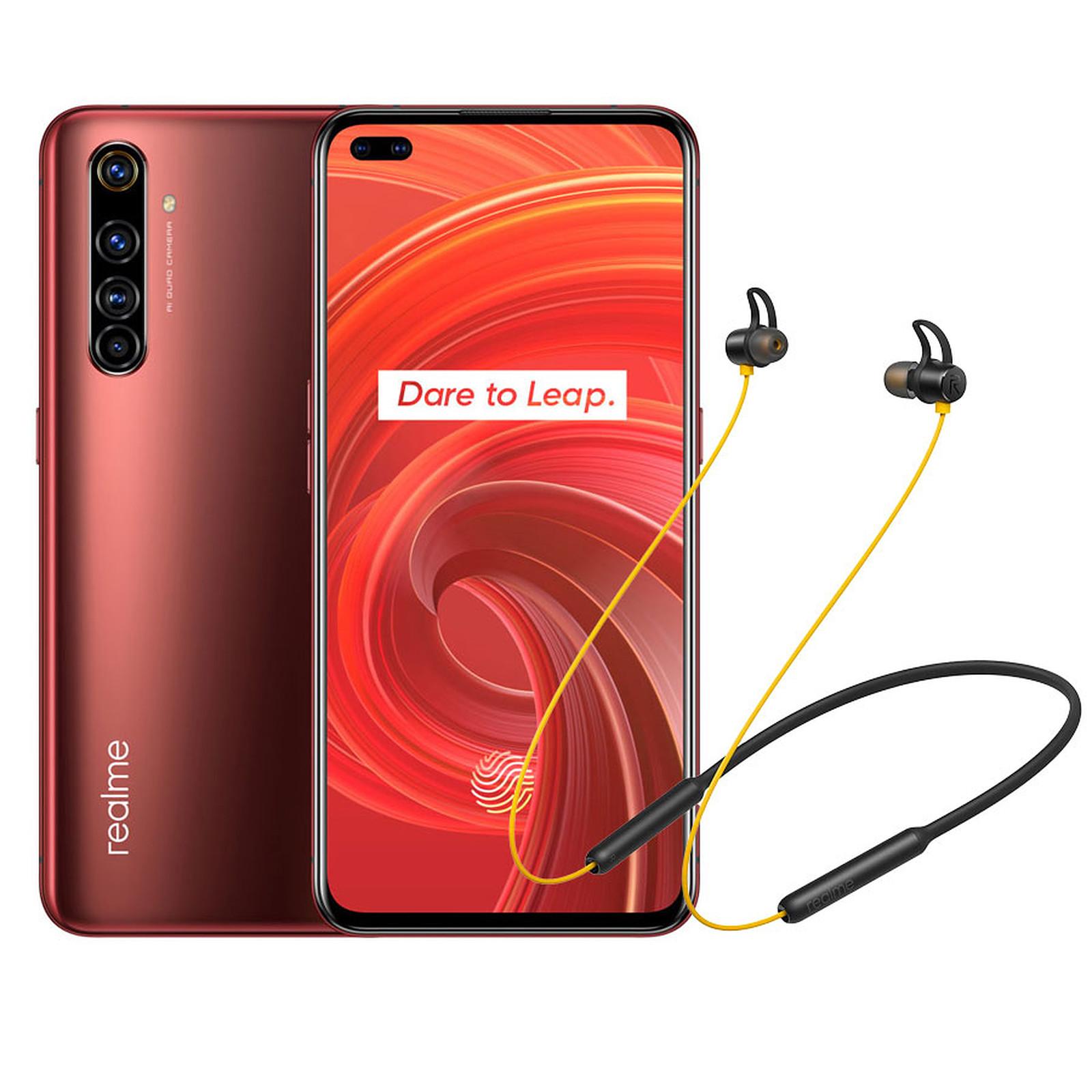 Realme X50 Pro Rouge (12 Go / 256 Go) + Wireless Buds OFFERTS !