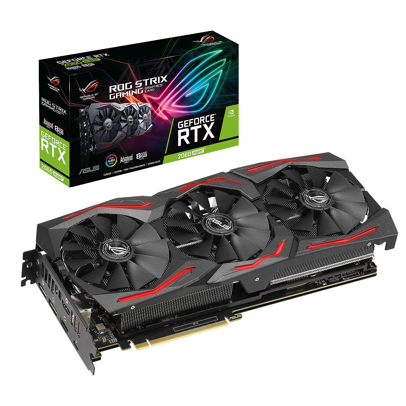 ASUS GeForce RTX 2060 SUPER ROG-STRIX-RTX2060S-A8G-EVO-GAMING