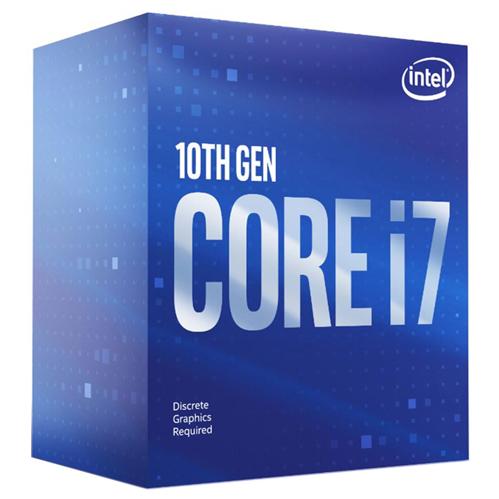 Intel Core i7-10700F (2.9 GHz / 4.8 GHz)