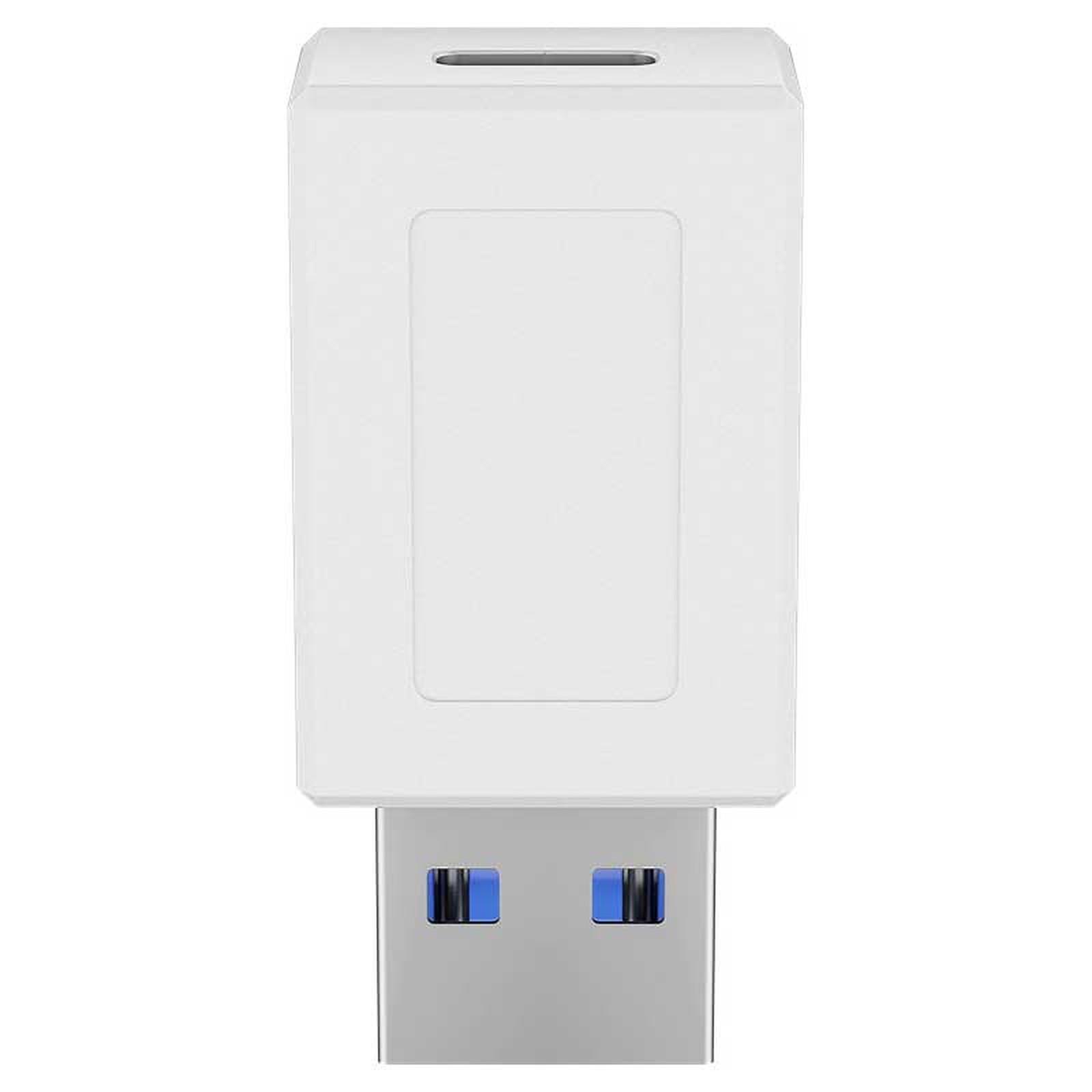 Goobay Adaptateur USB 3.0 SuperSpeed vers USB-C - Blanc