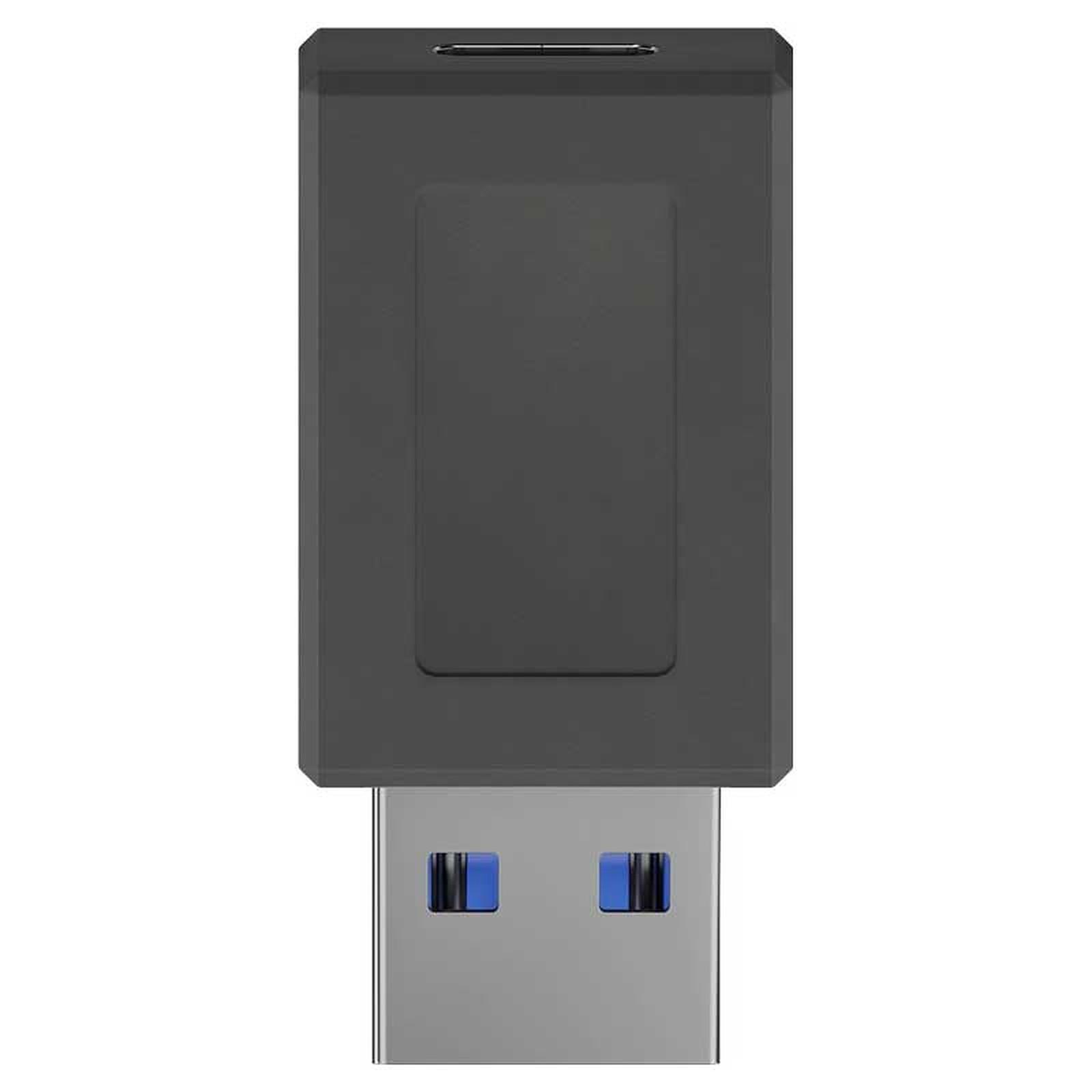 Goobay Adaptateur USB 3.0 SuperSpeed vers USB-C - Noir