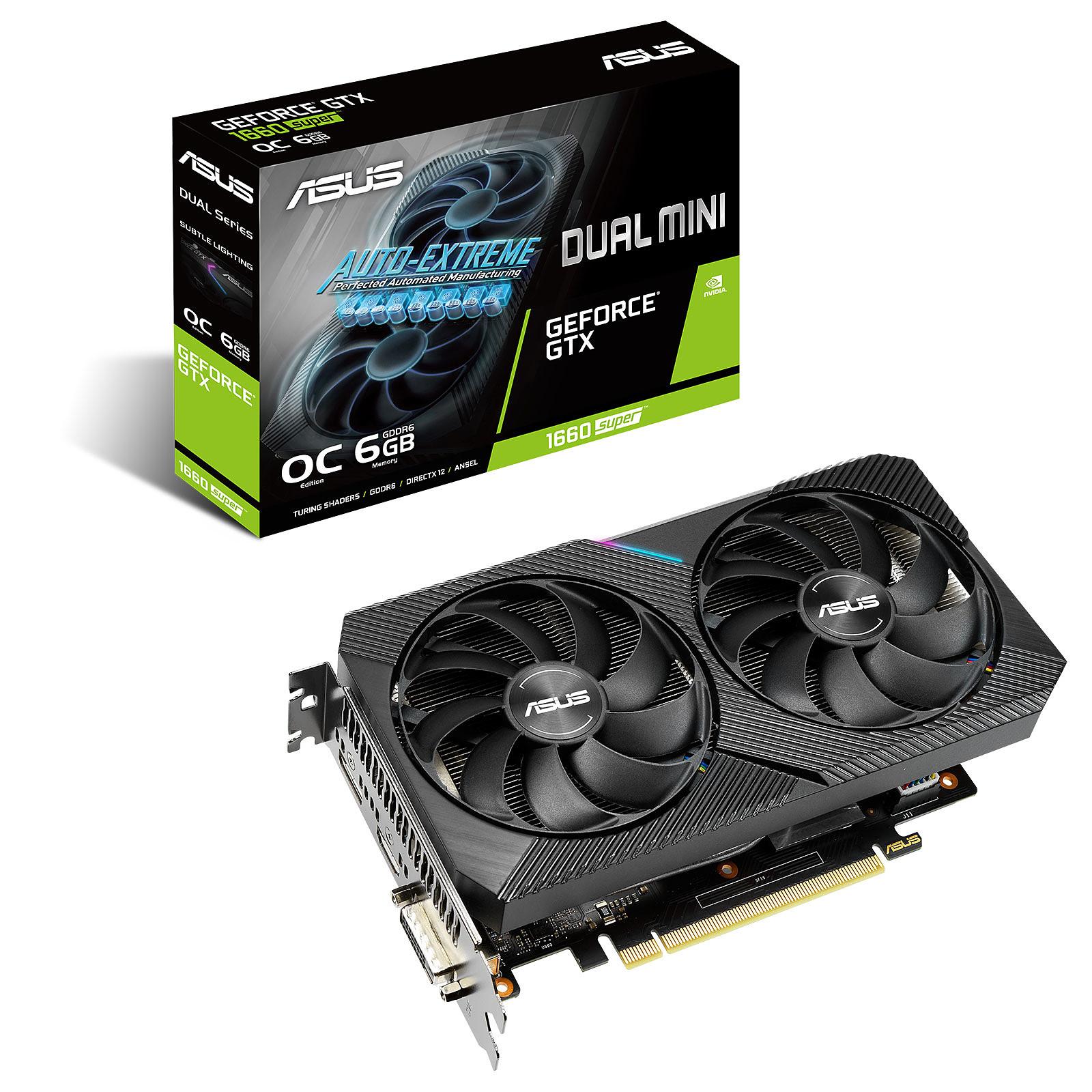 ASUS GeForce GTX 1660 SUPER DUAL-GTX1660S-O6G-MINI