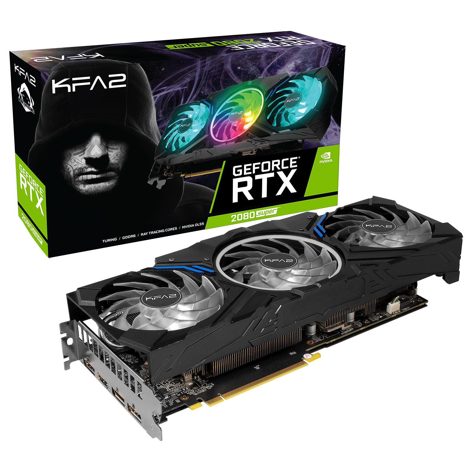 KFA2 GeForce RTX 2080 SUPER Work The Frames Edition