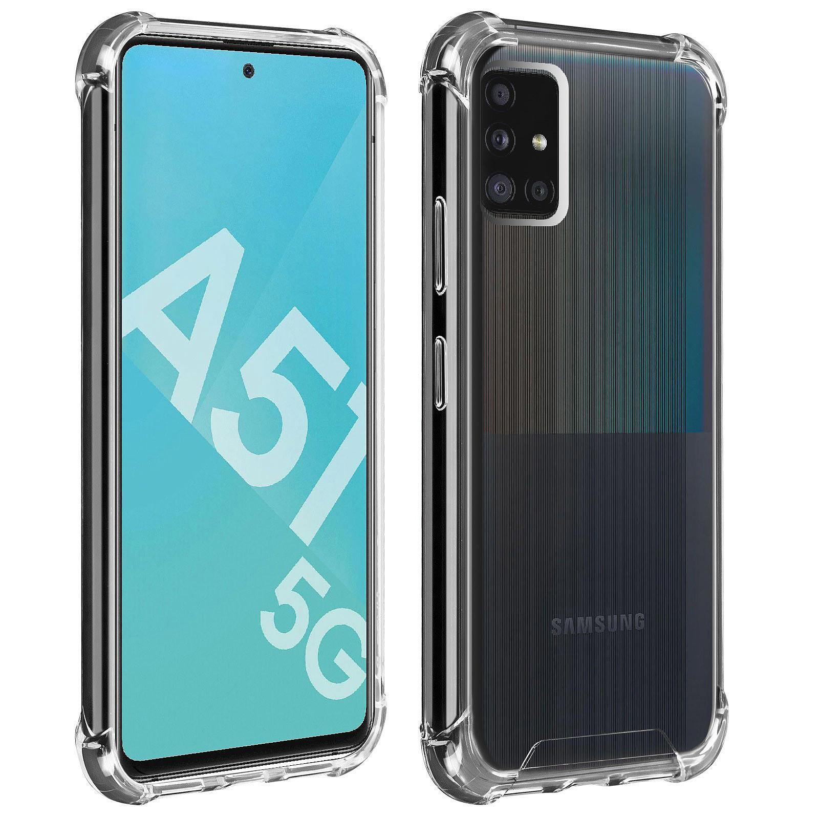 Akashi Coque TPU Angles Renforcés Galaxy A51 5G