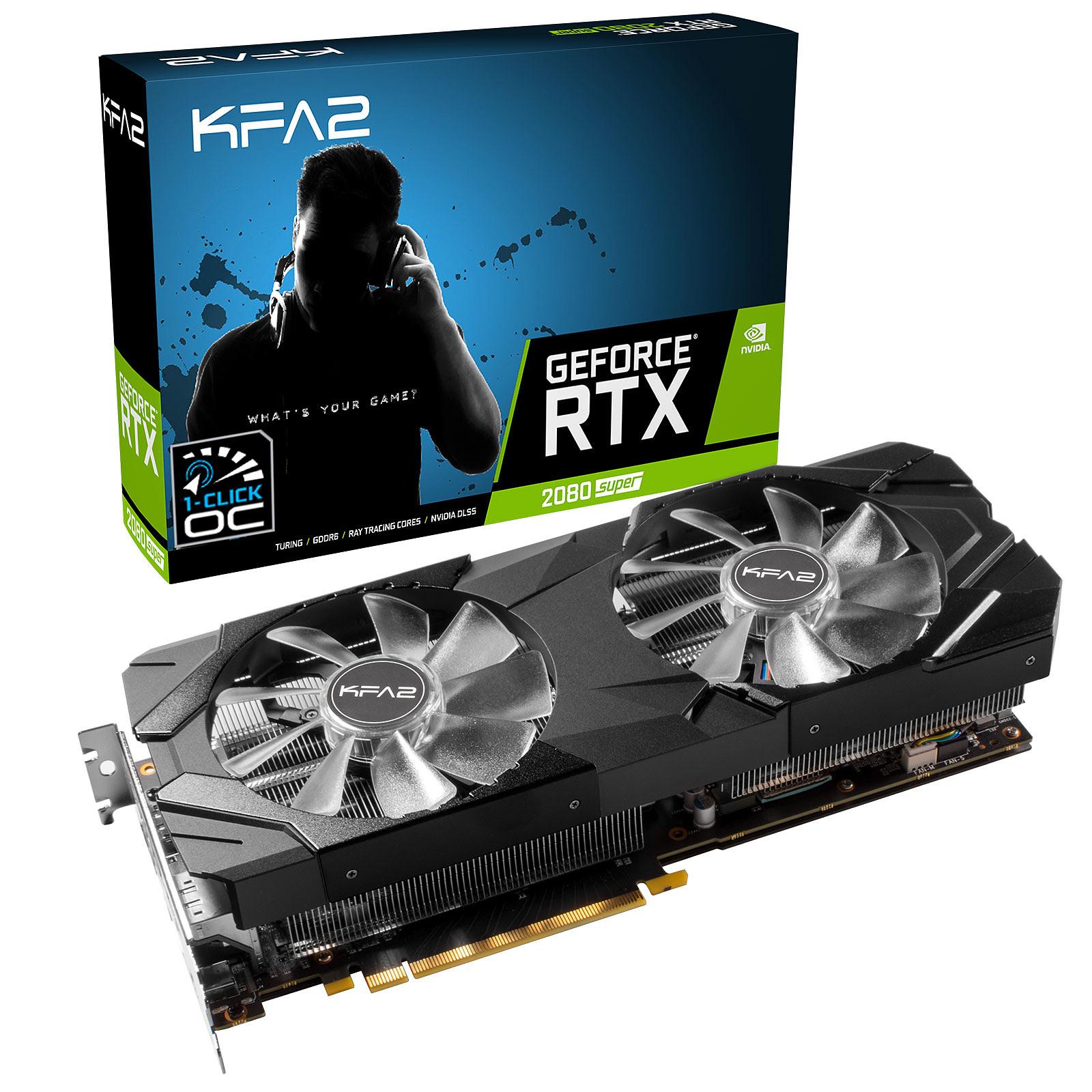 KFA2 GeForce RTX 2080 Super EX (1-Click OC)