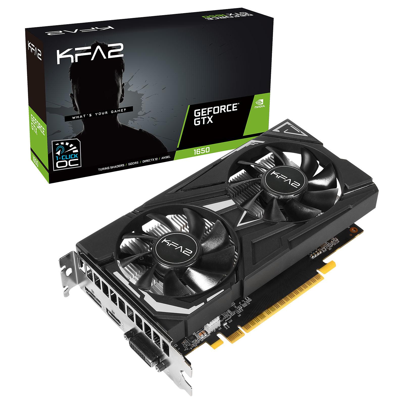 KFA2 GeForce GTX 1650 (1-Click OC)