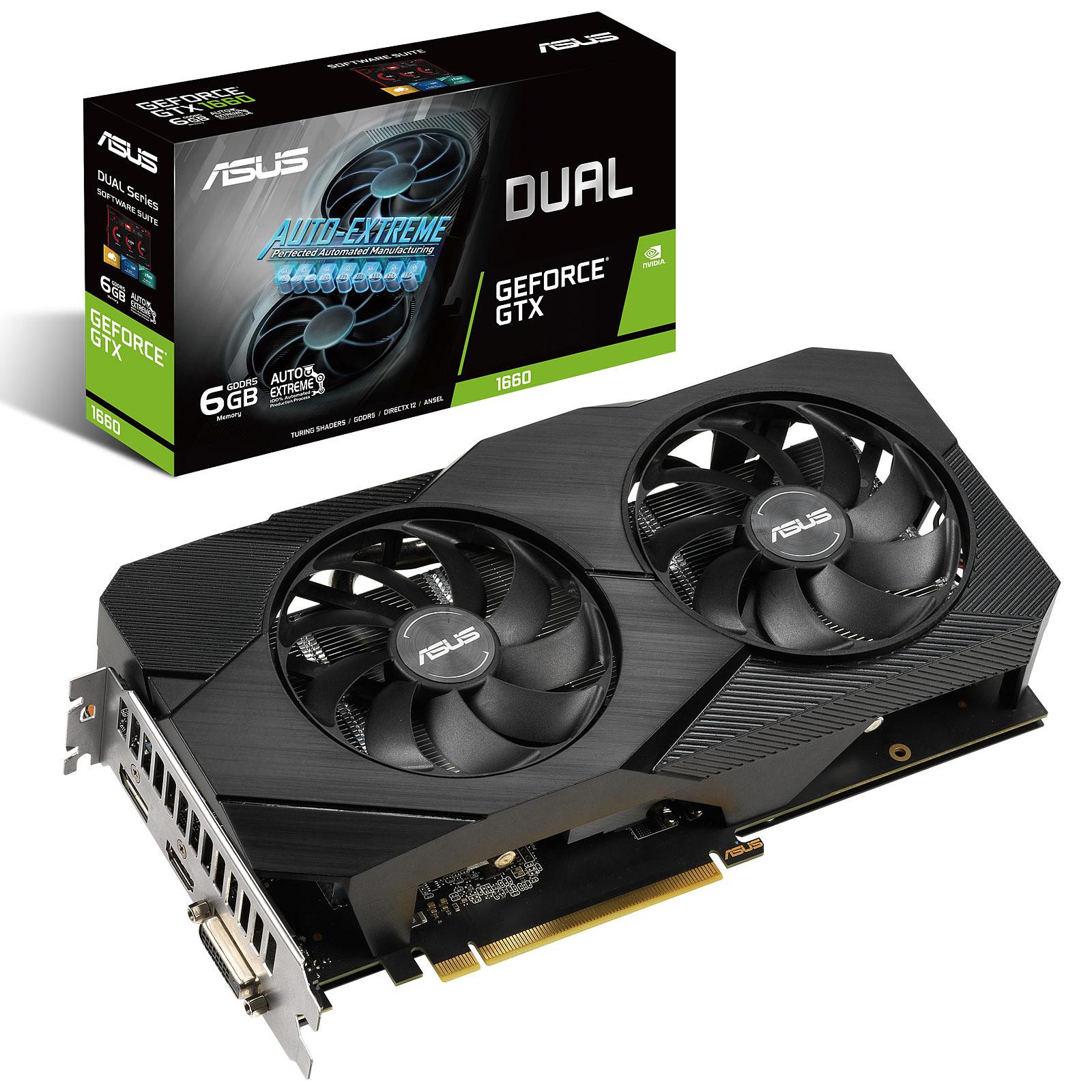 ASUS GeForce GTX 1660 DUAL-GTX1660-6G-EVO