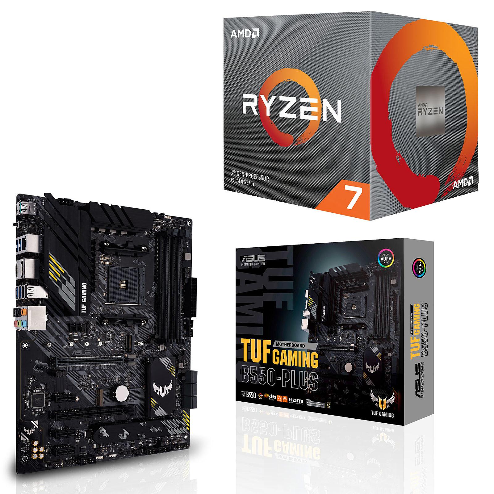 Kit Upgrade PC AMD Ryzen 7 3700X ASUS TUF GAMING B550-PLUS
