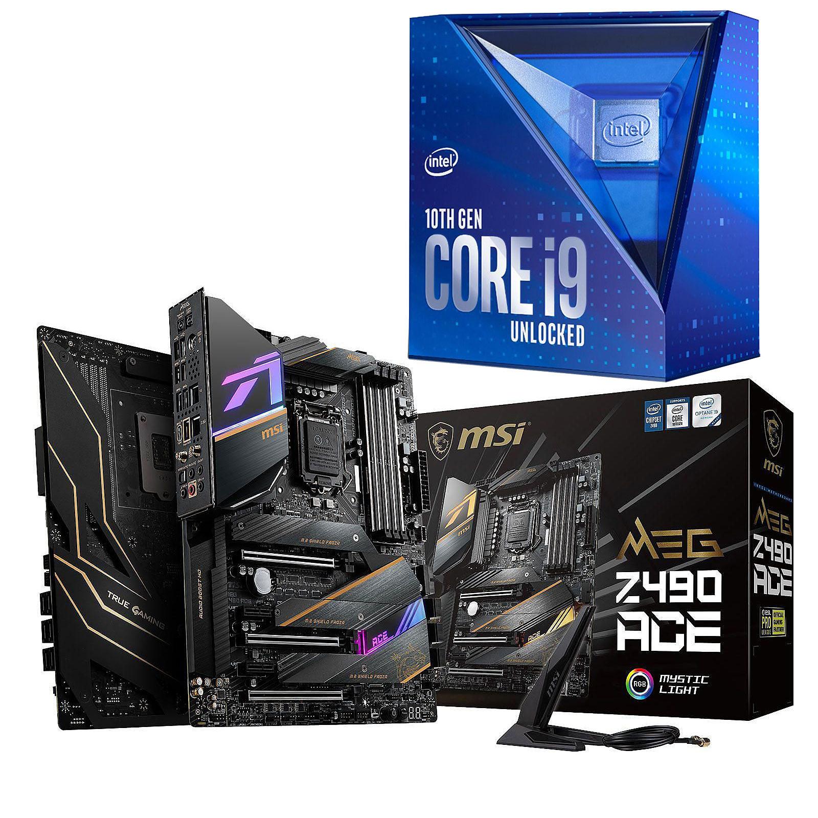 Kit Upgrade PC Core i9K MSI MPG Z490 ACE