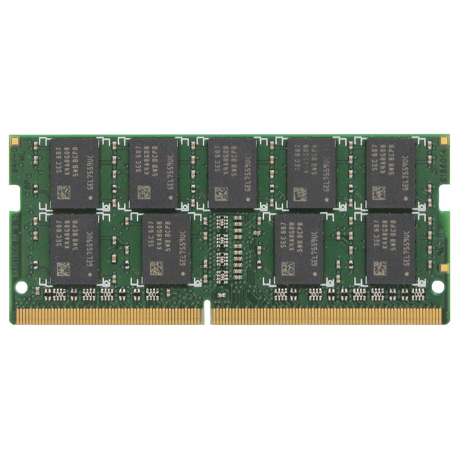 Synology 8GB (1 x 8GB) DDR4 SO-DIMM ECC Sin búfer 2666 MHz CL19 (D4ES01-8G)