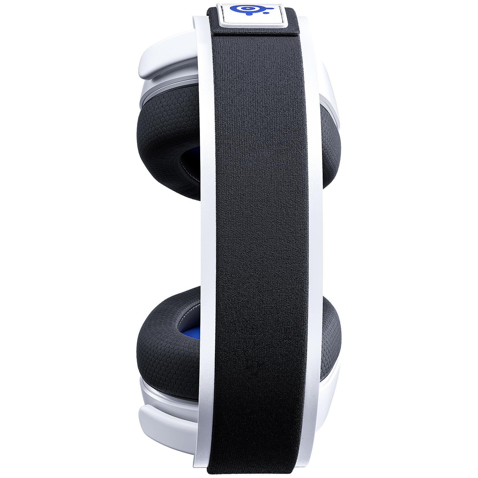 SteelSeries Arctis 7P (blanco) - Auriculares microfono SteelSeries