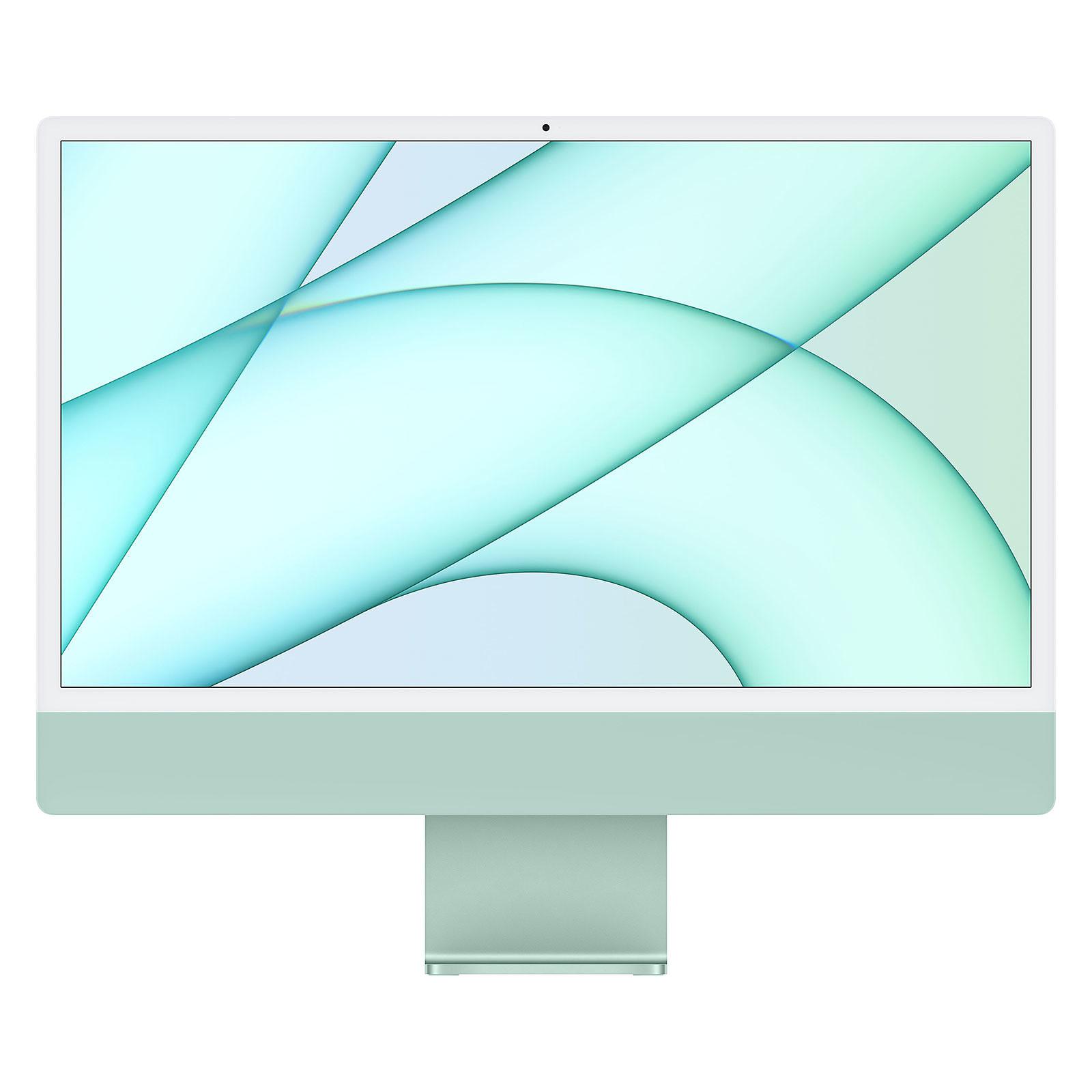 """Apple iMac (2021) 24"""" 256 Go Vert (MGPH3FN/A-MKPN ..."""