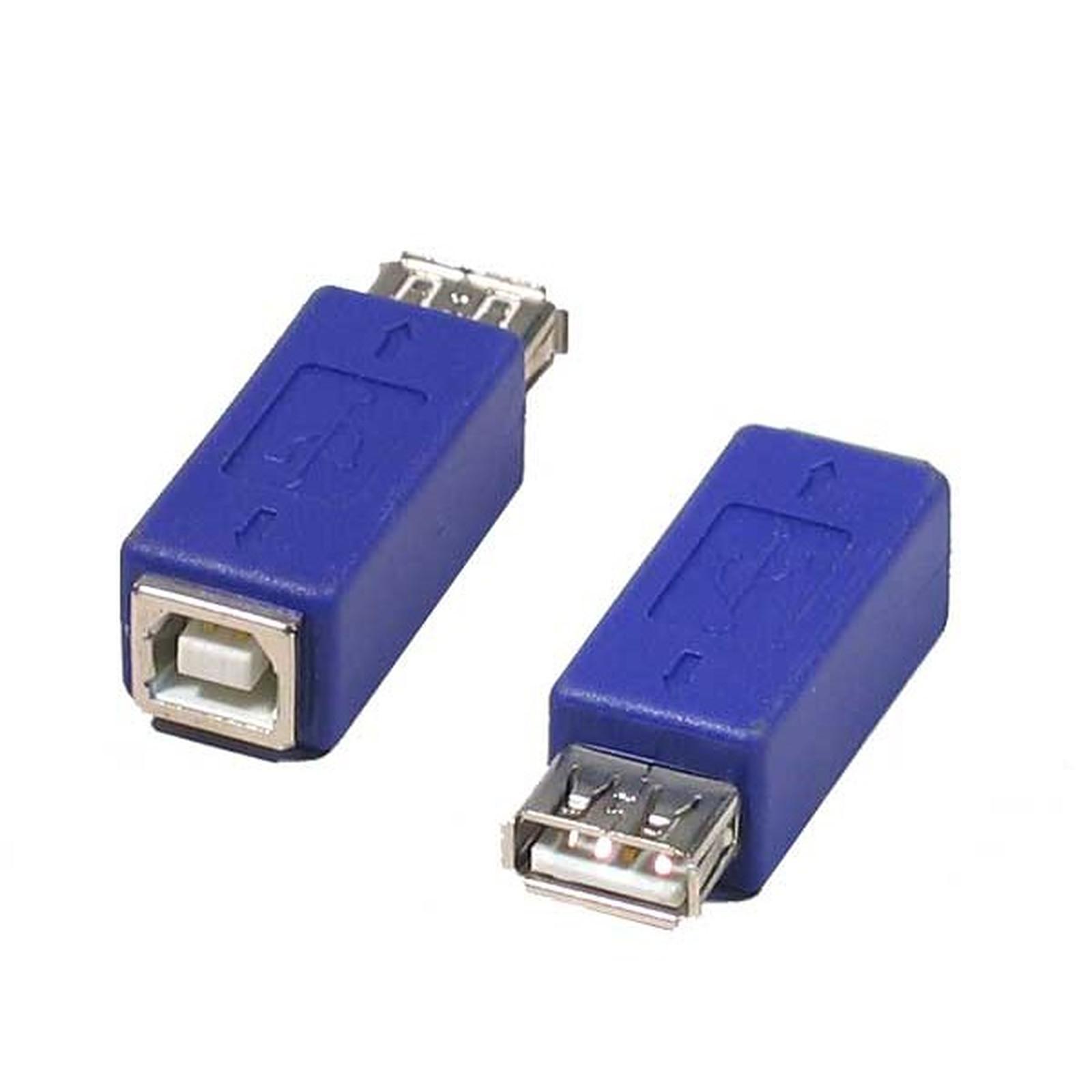 Adaptador USB 2.0 tipo A hembra / B Hembra
