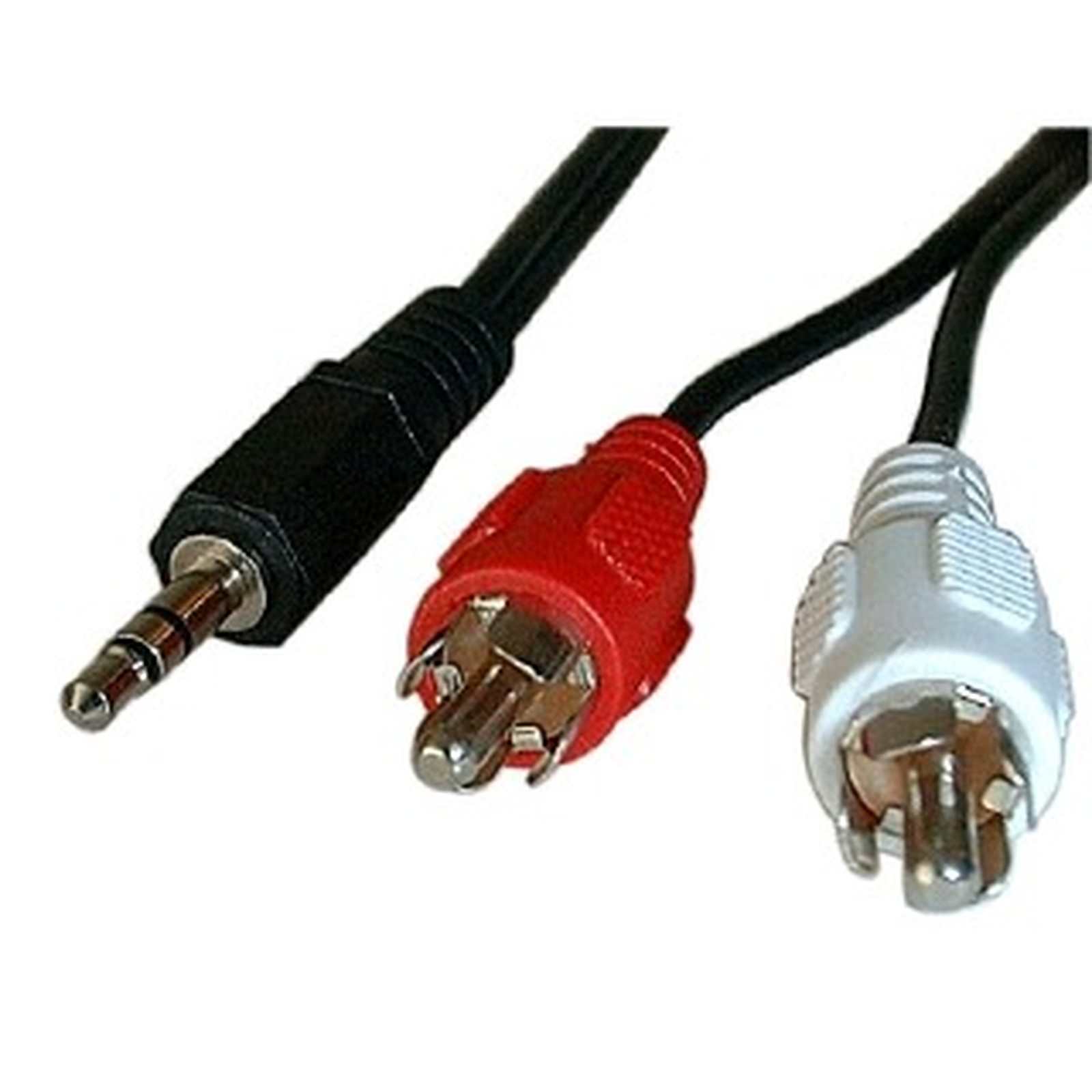 Cable de audio Jack 3,5 mm estéreo macho / 2 RCA machos (1,5 metros)