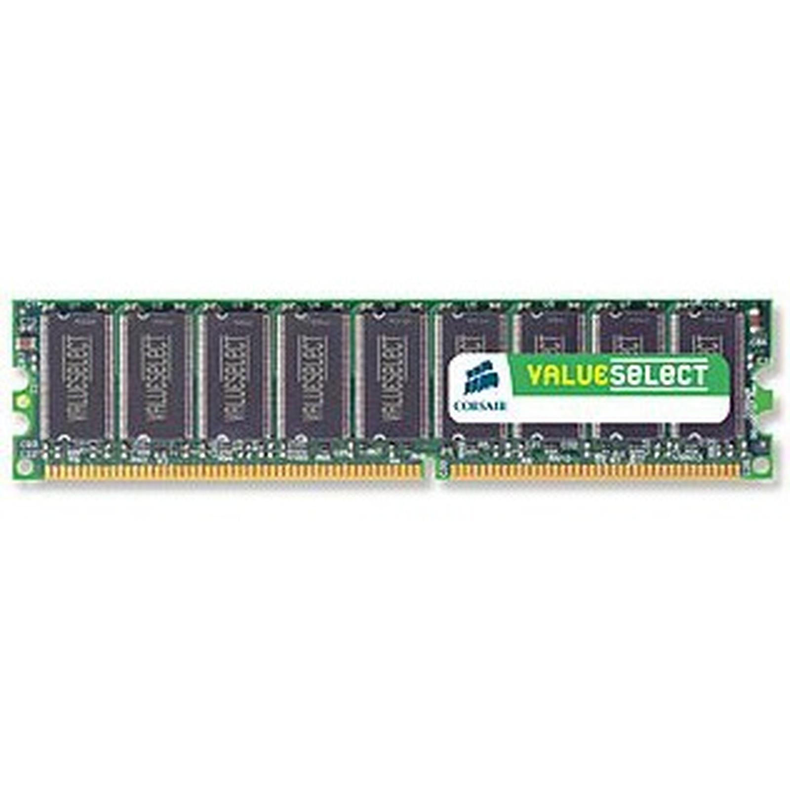 Corsair Value Select 1 Go DDR 400 MHz CL3