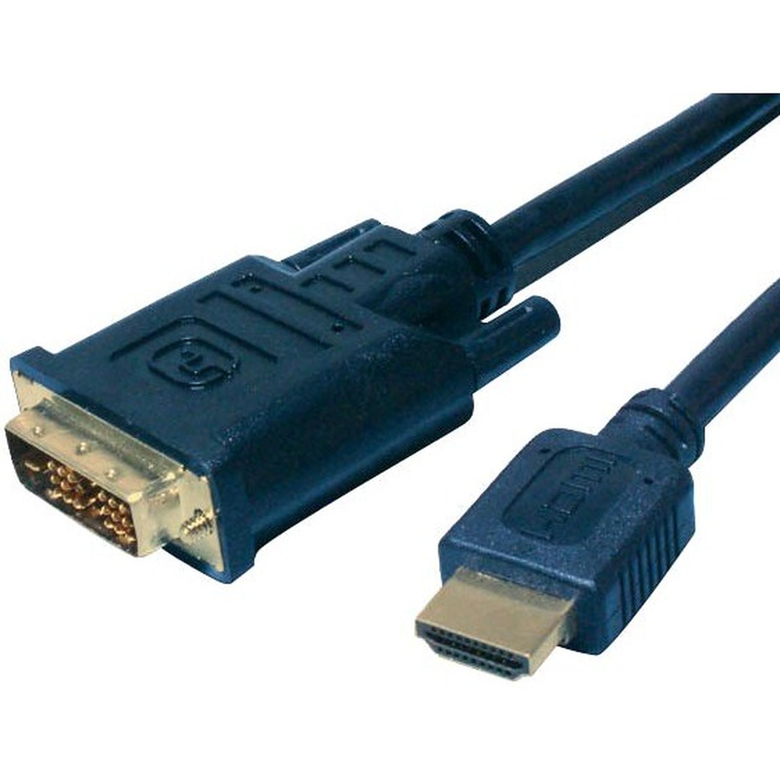Cable DVI-D Single Link macho / HDMI macho (5 metros)