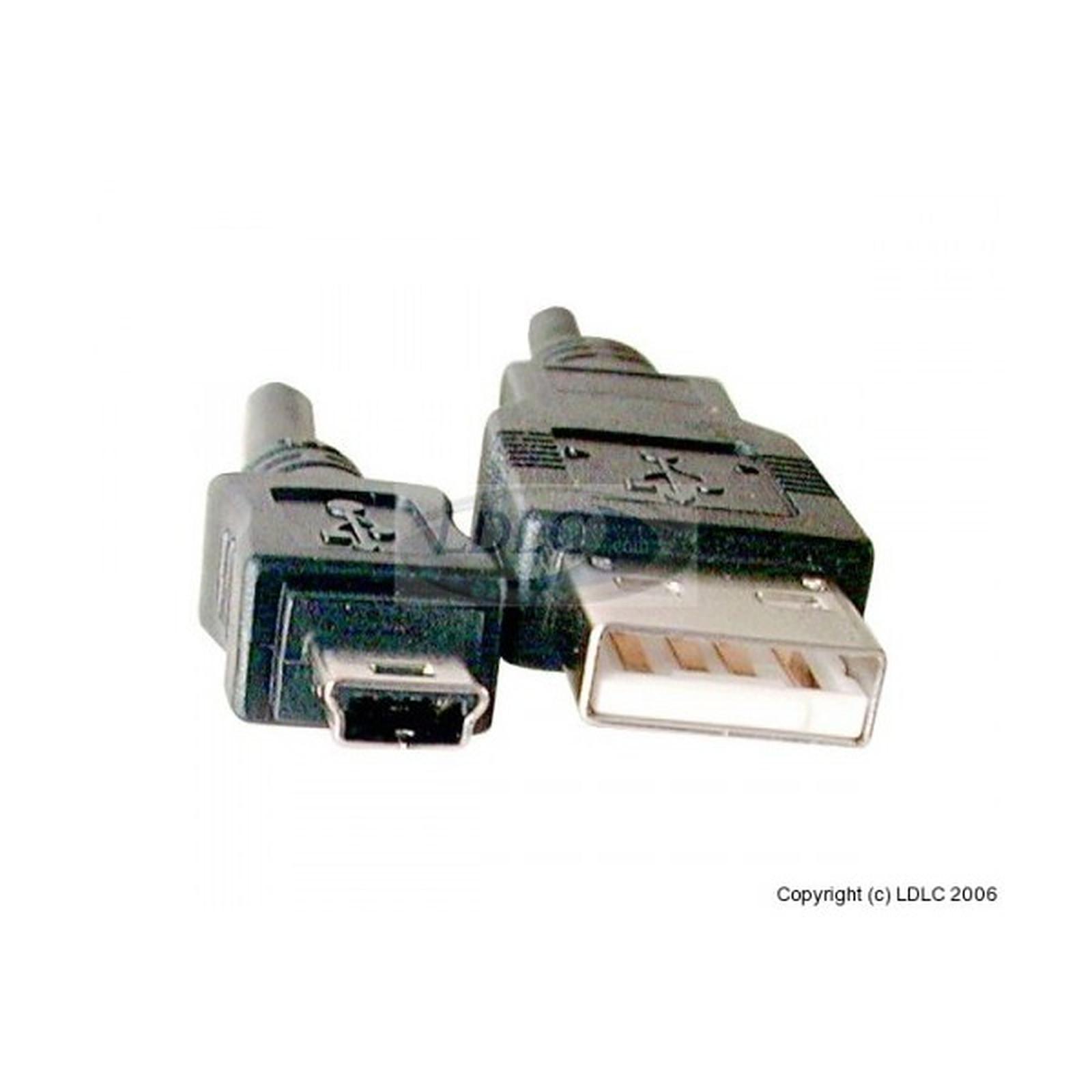Câble USB 2.0 pour périphérique mini USB - 3 m