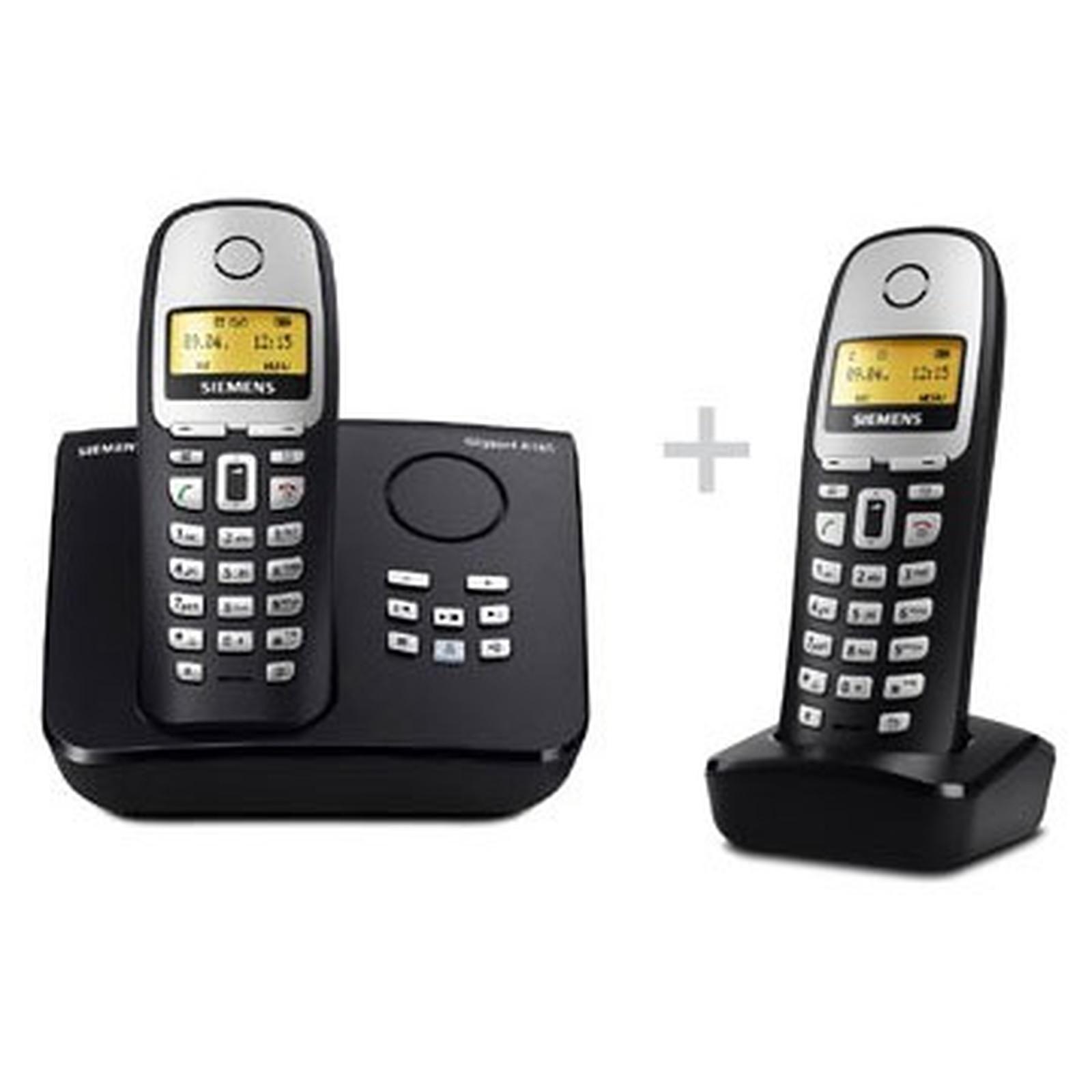 siemens gigaset a165 duo pack t l phone sans fil siemens. Black Bedroom Furniture Sets. Home Design Ideas