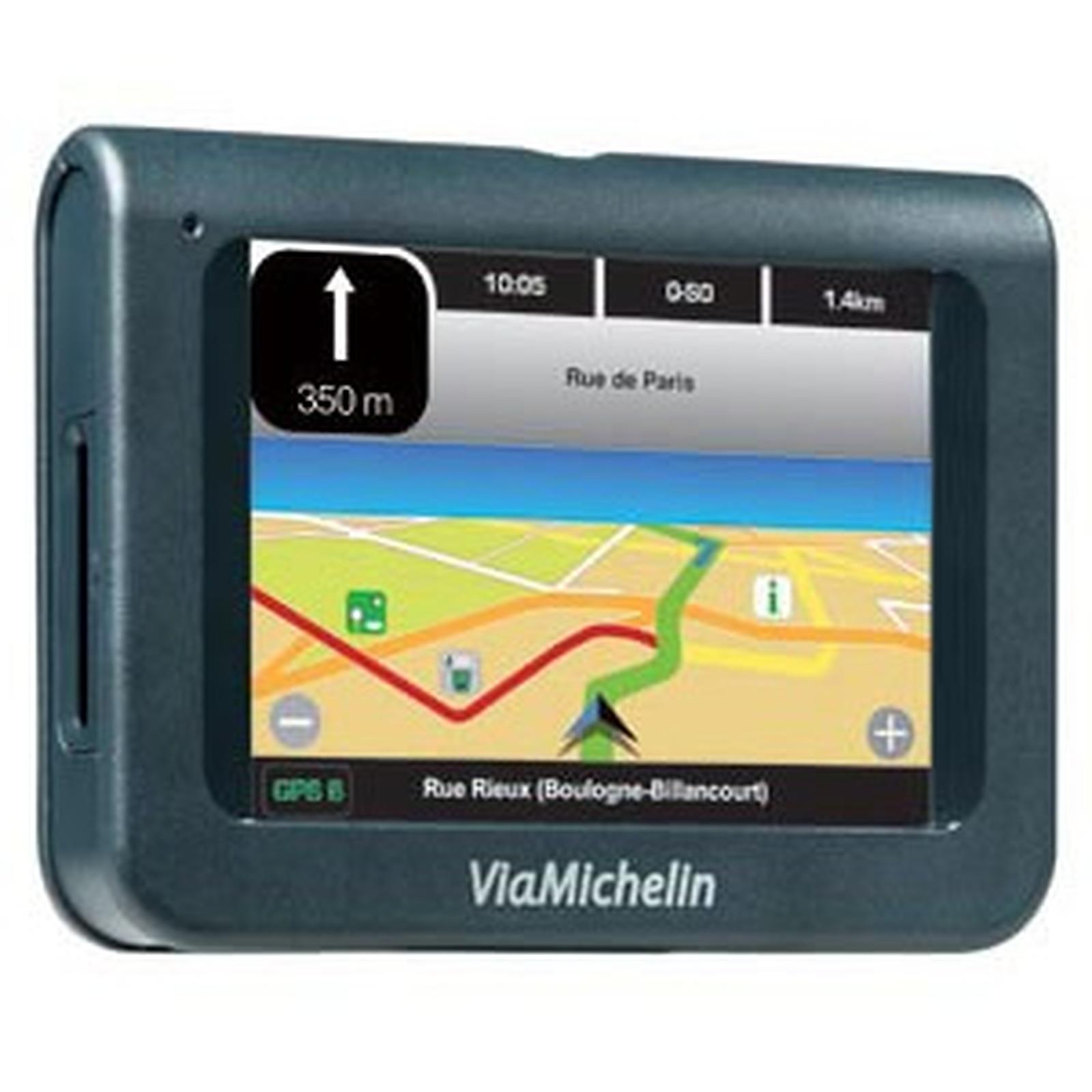 logiciel viamichelin navigation 5