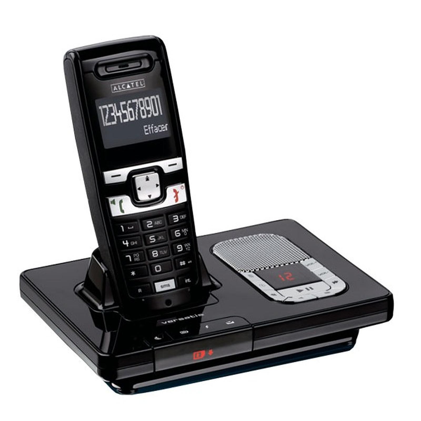 alcatel versatis 1230 voice t l phone sans fil alcatel sur. Black Bedroom Furniture Sets. Home Design Ideas