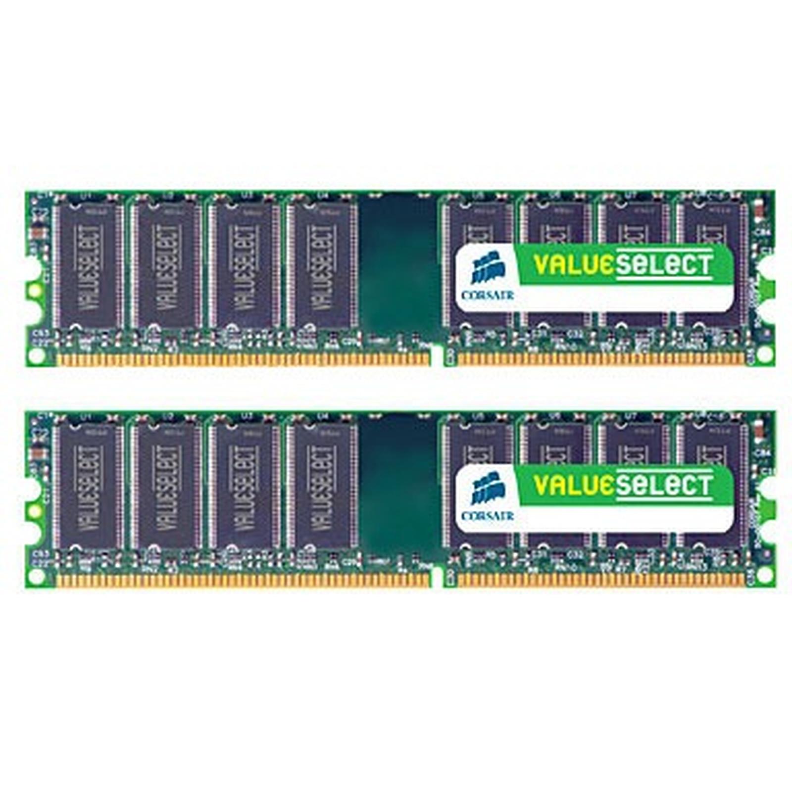 Corsair Value Select 4 Go (2x 2 Go) DDR2 667 MHz CL5