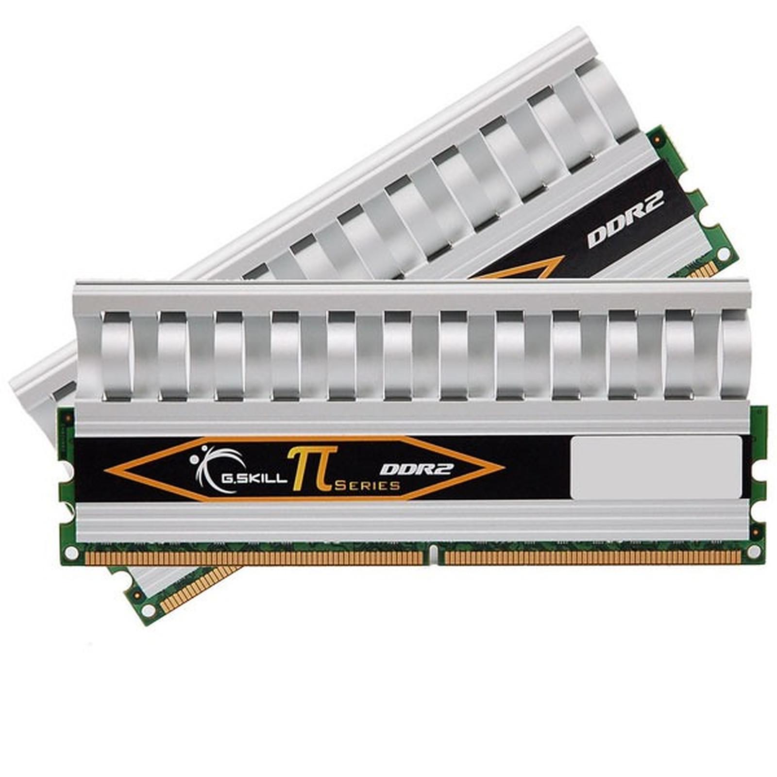 G.Skill PI Series 4 Go (kit 2x 2 Go) DDR2-SDRAM PC2-8500 - F2-8500CL5D-4GBPI