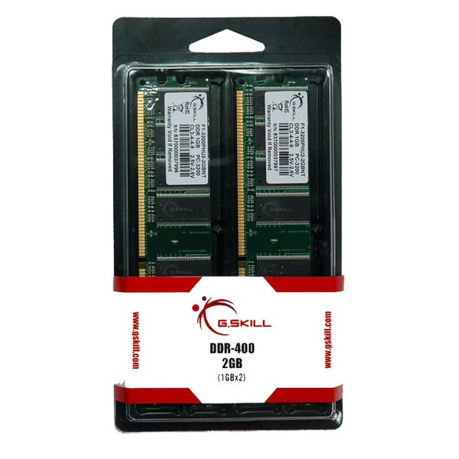 G.Skill NT Series 2 Go (2x 1Go) DDR 400 MHz
