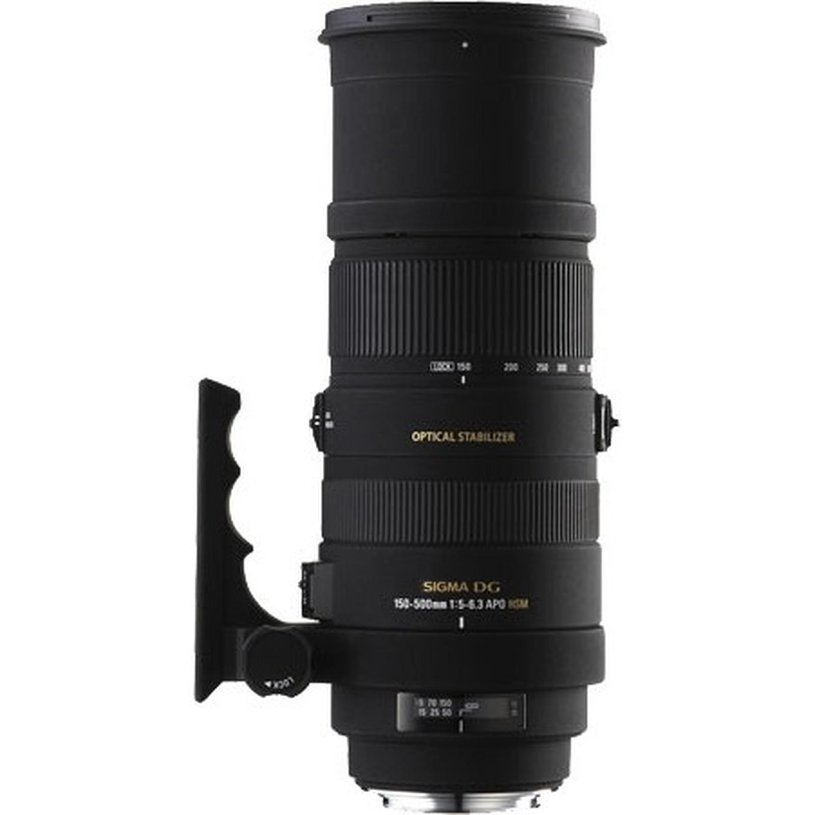 Monture F5 6 3 Hsm Objectif Dg Os 500mm Sigma Apo 150 Nikon VqzSMUp