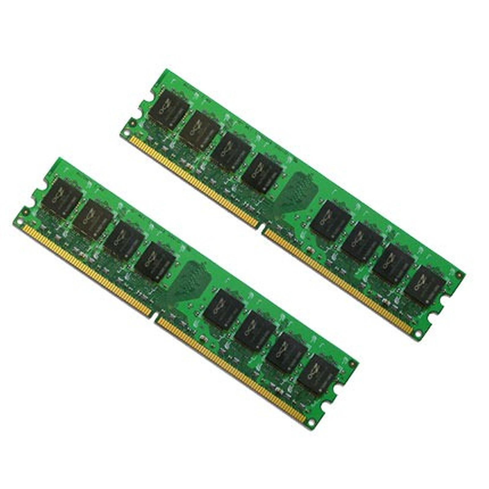 OCZ Value 2 Go (kit 2x 1 Go) DDR2-SDRAM PC2-5300
