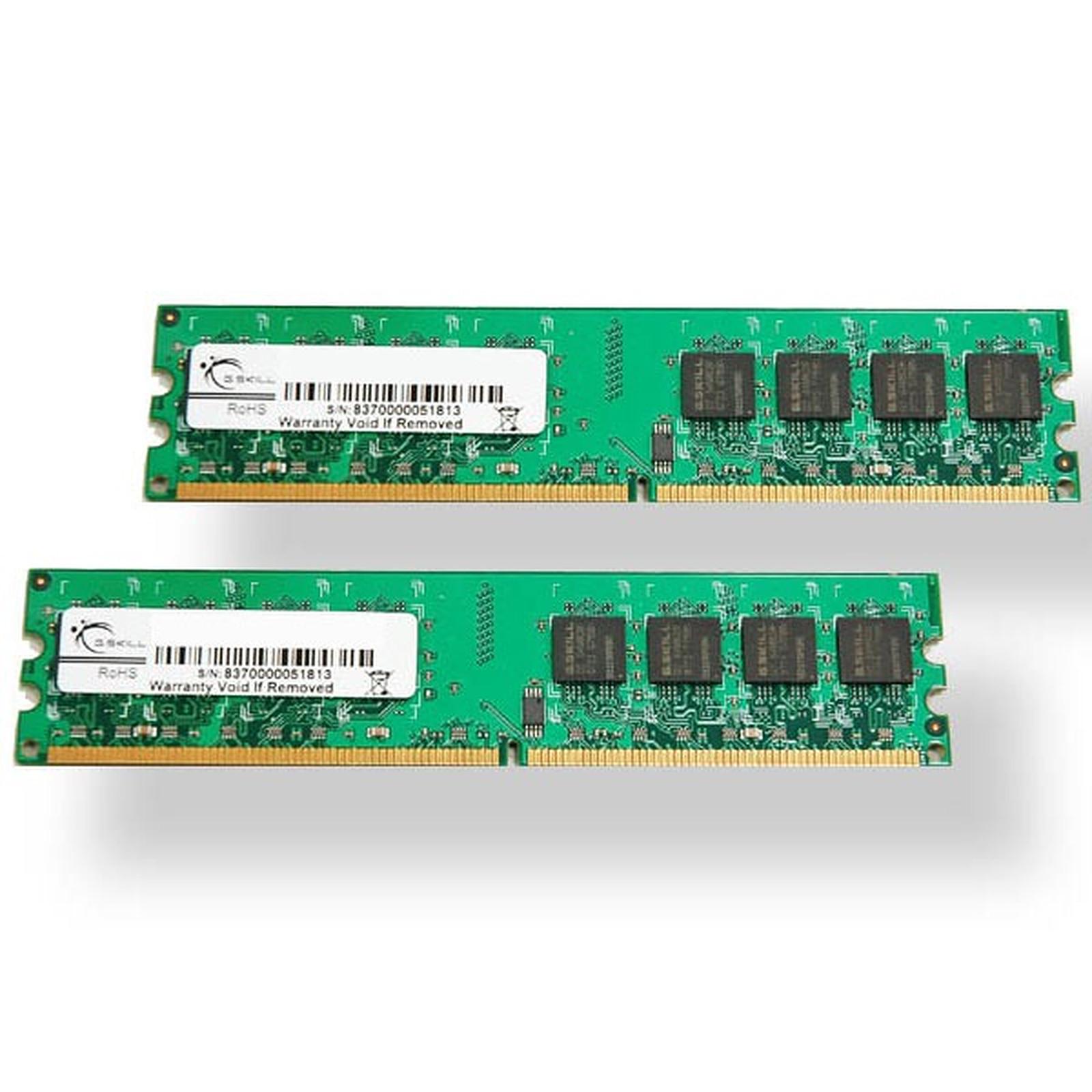 G.Skill Standard Series 4 Go (2x 2Go) DDR2 800 MHz