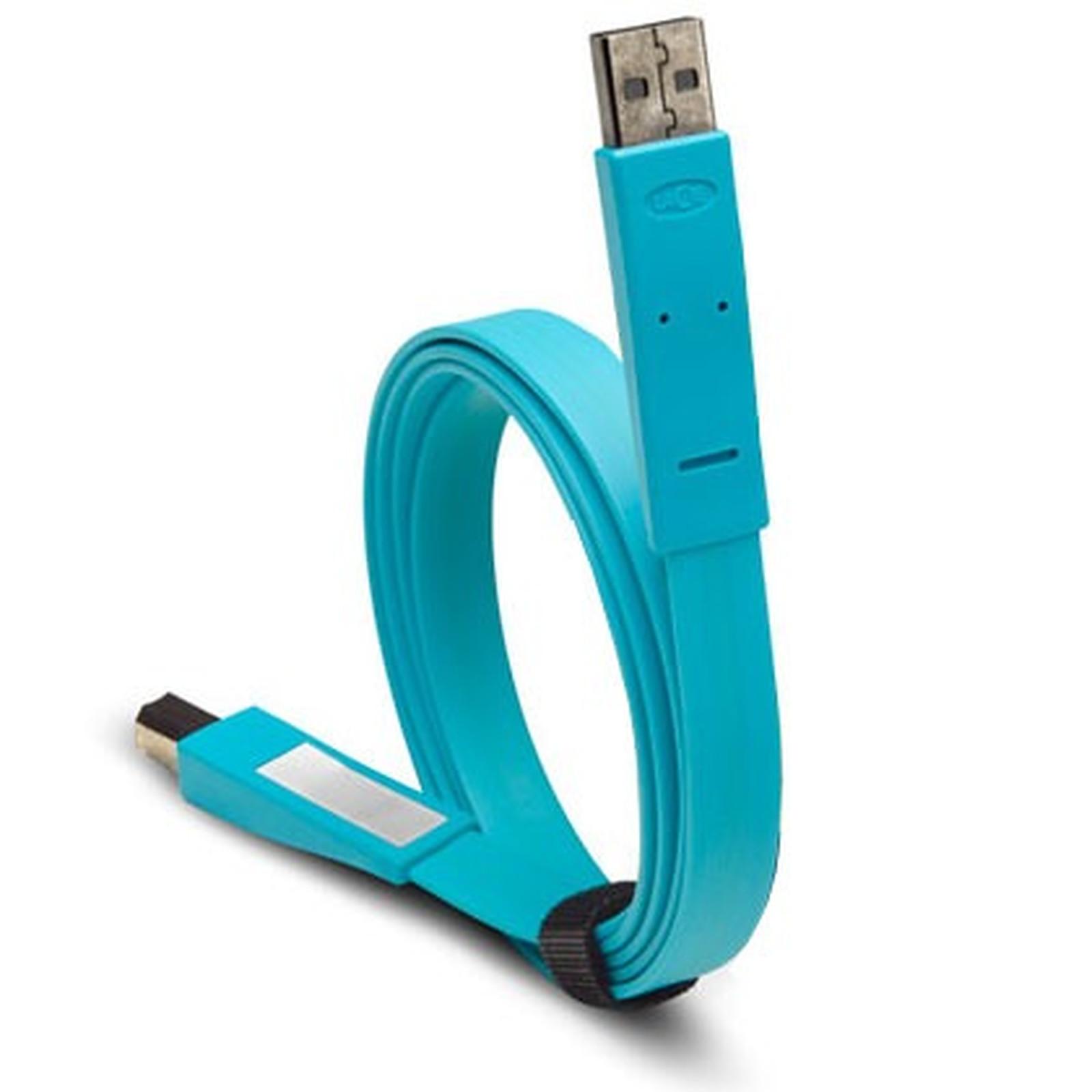 LaCie Flat Cable - Câble USB plat pour périphérique mini USB
