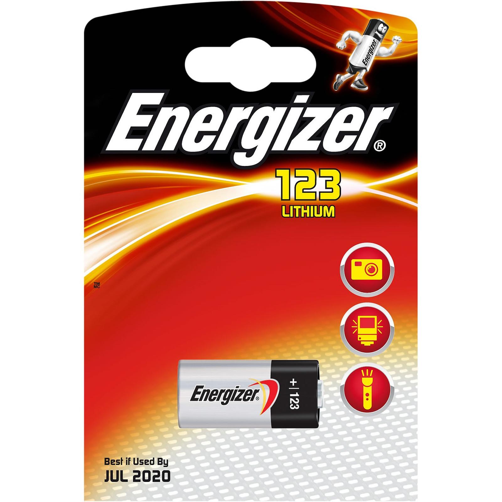 Energizer 123 Lithium (una unidad)