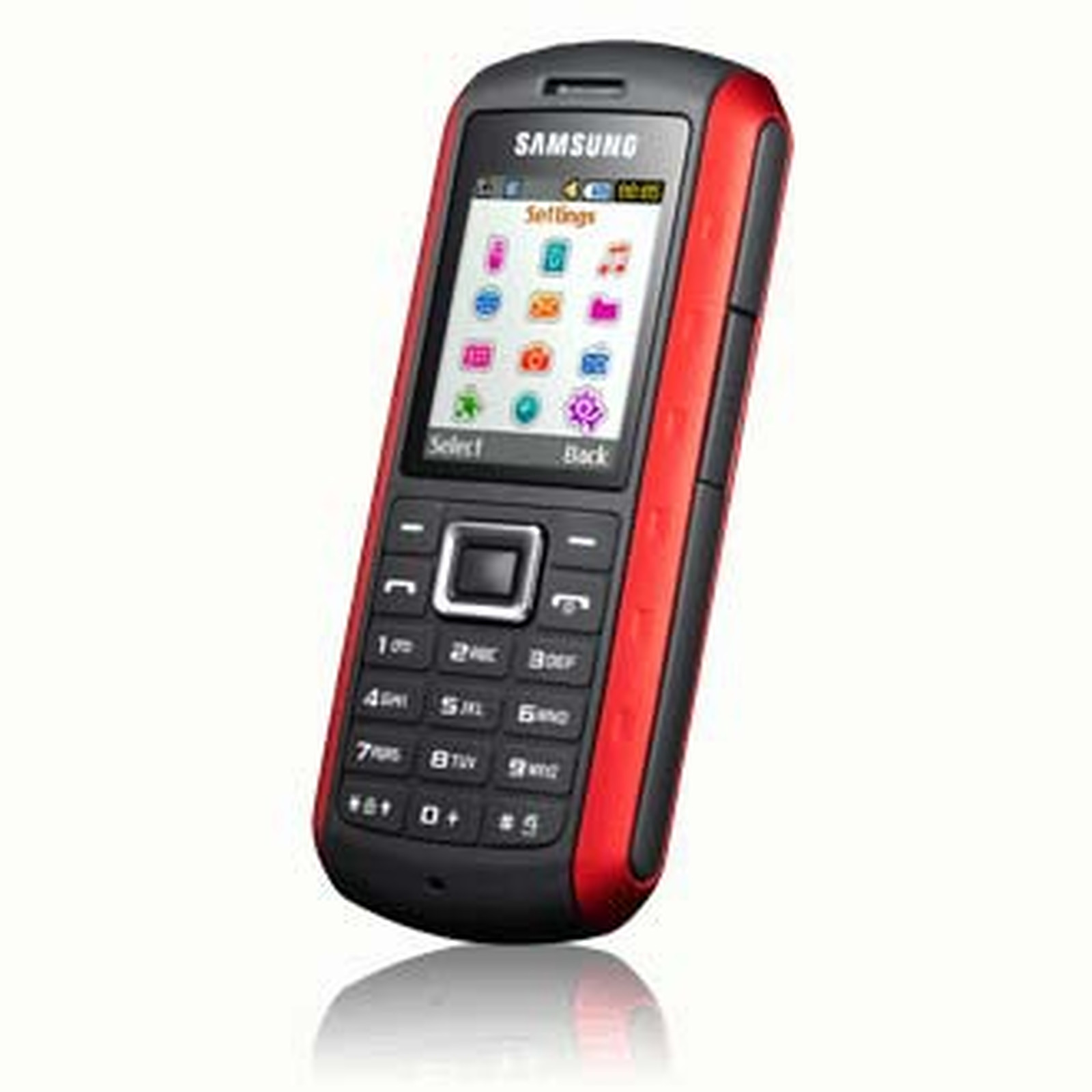 "Samsung ""Solid"" GT-B2100 Rouge"