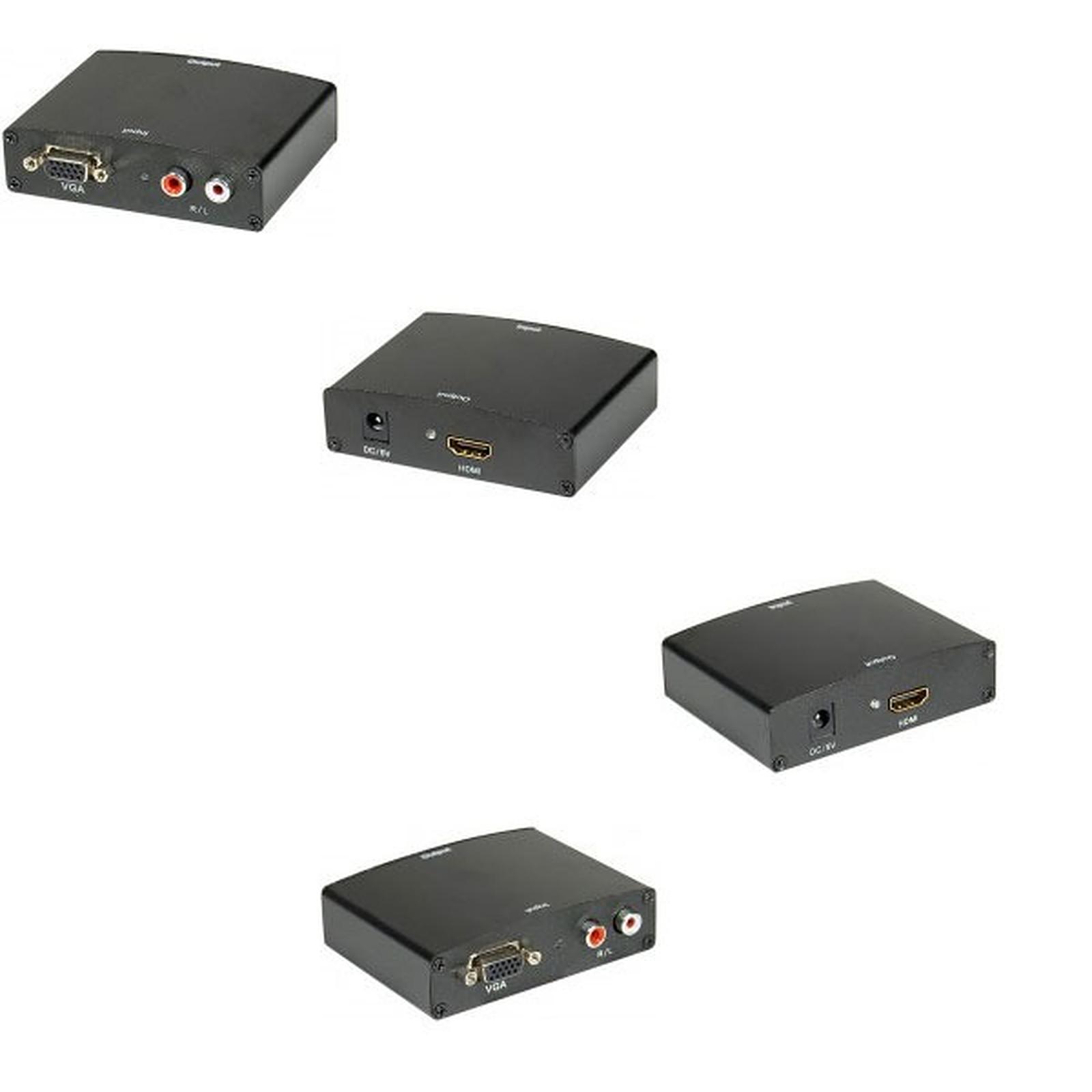 Convertisseur VGA + RCA vers HDMI