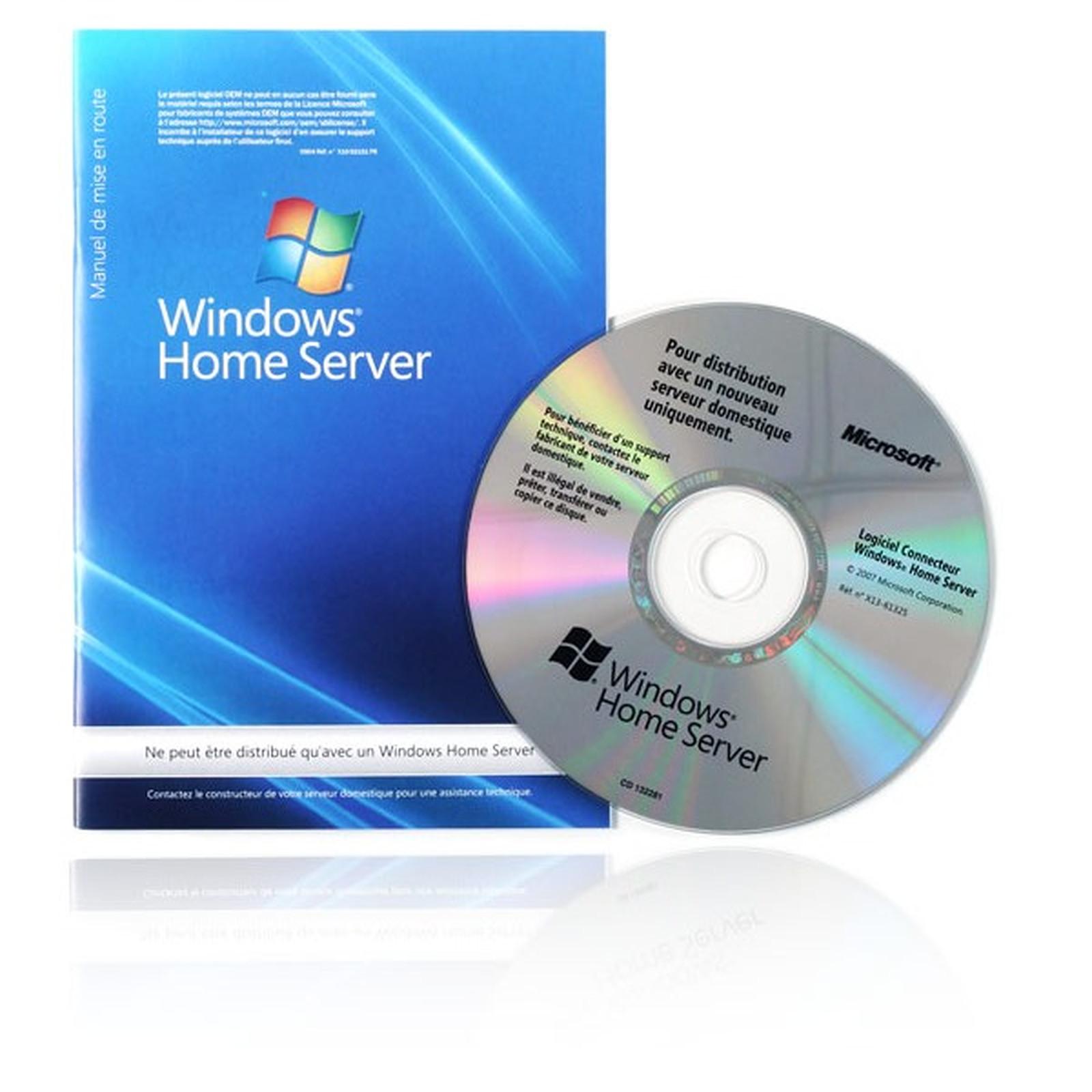 Microsoft Windows Home Server OEM 32 bits