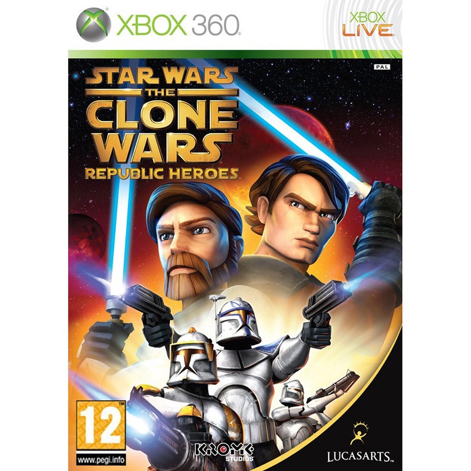 Star Wars The Clone Wars : Les héros de la République (Xbox 360)
