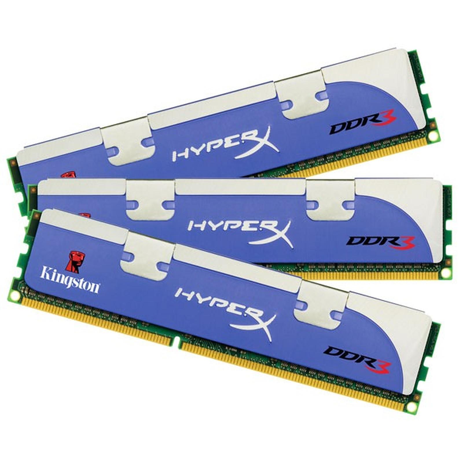 Kingston HyperX 12 Go (3x 4 Go) DDR3 1866 MHz - Mémoire PC