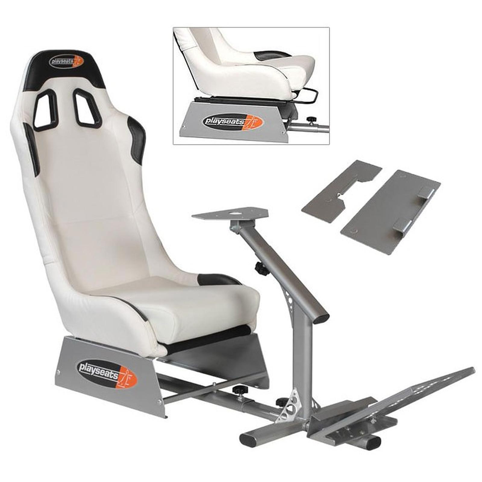 playseats evo avec barre de r glage et adaptateur volant xbox 360 volant pc playseat sur. Black Bedroom Furniture Sets. Home Design Ideas