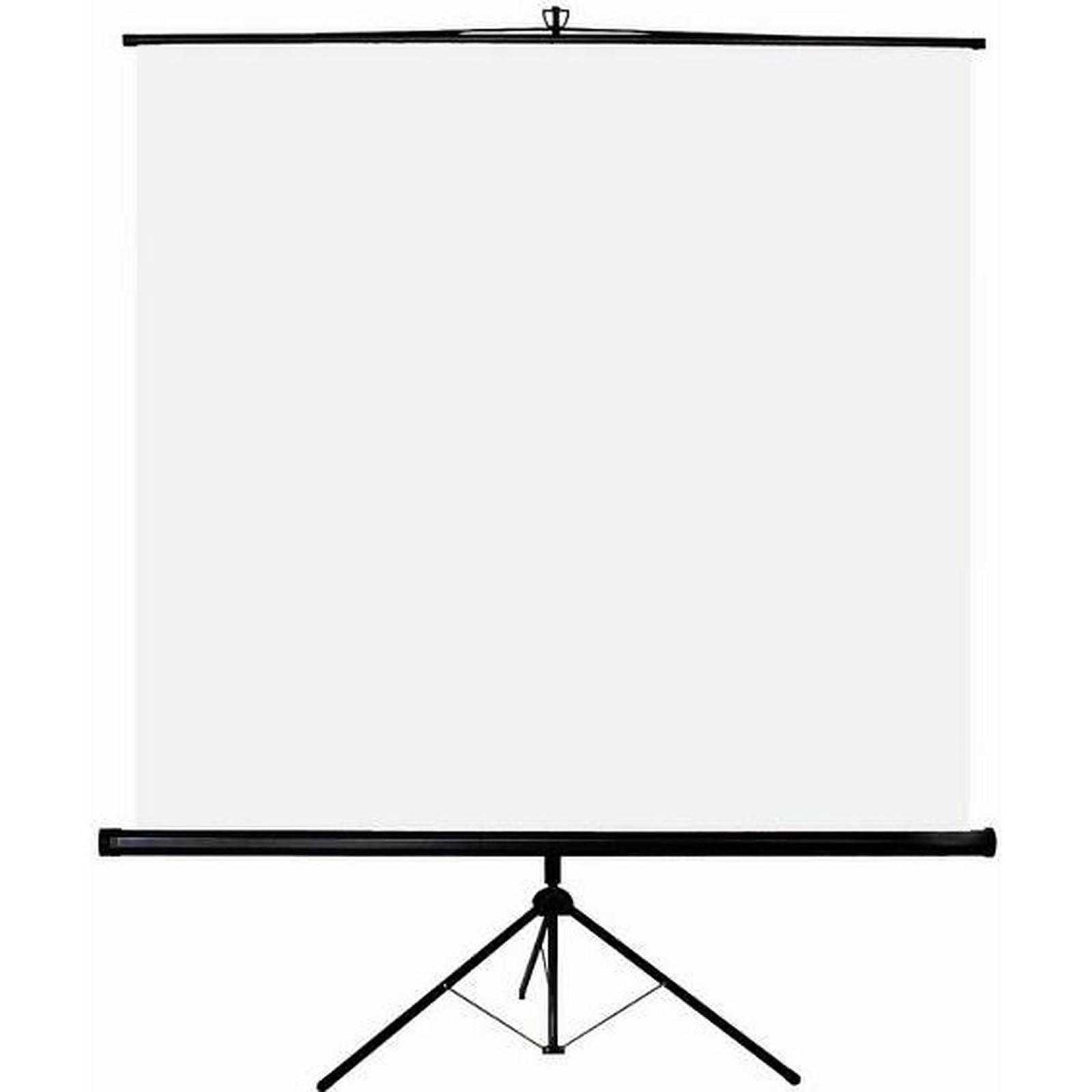 LDLC Ecran trépied - Format 1:1 - 120 x 120 cm