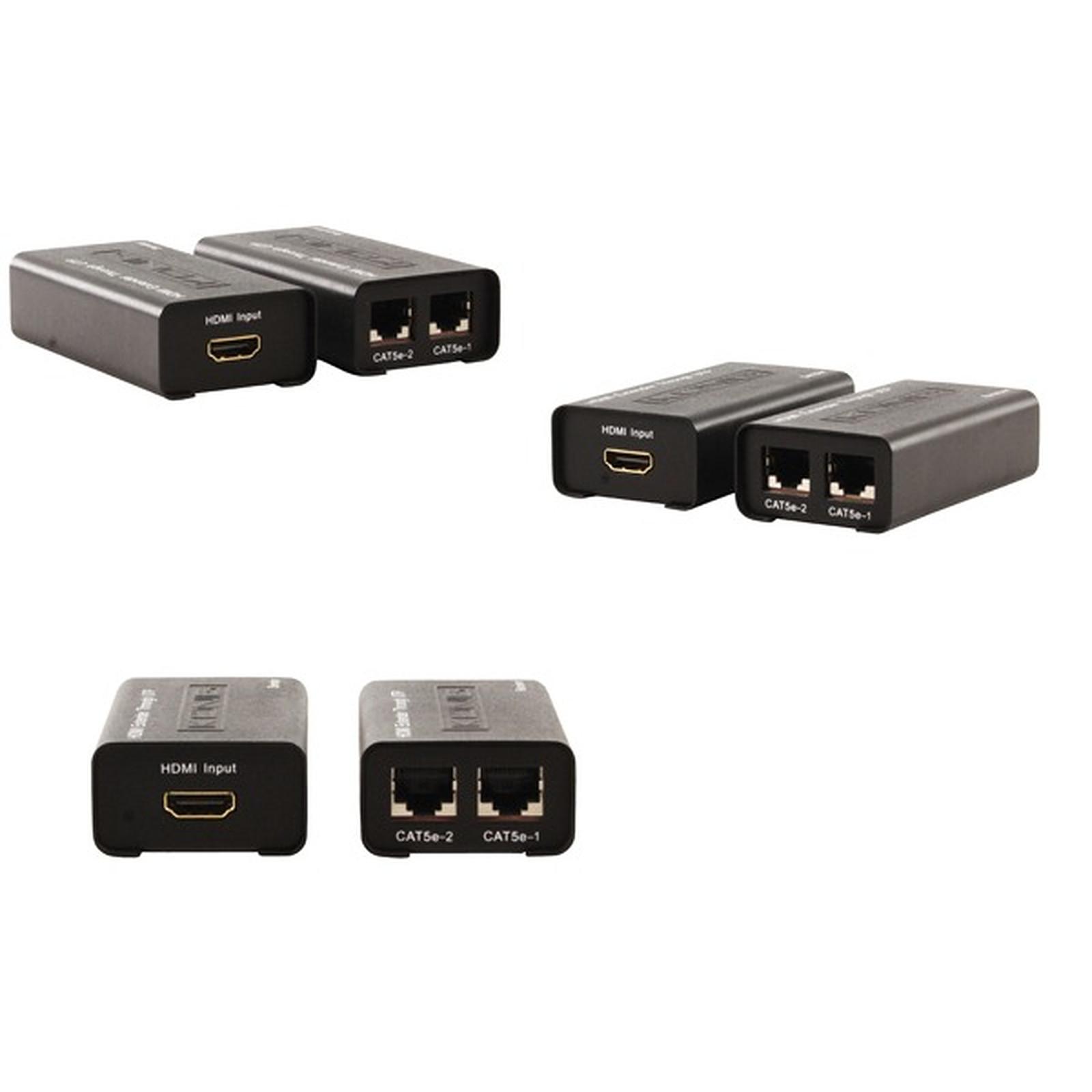 Transmetteur HDMI sur réseau Ethernet (30 mètres)