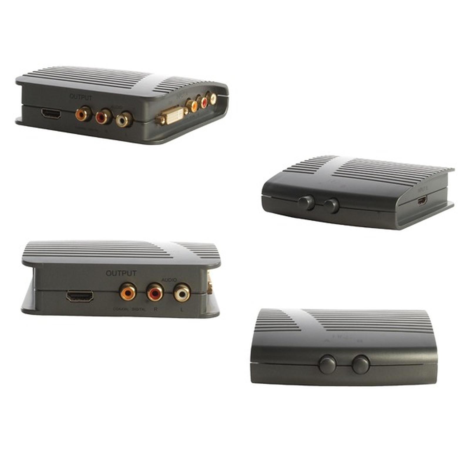 Commutateur DVI/HDMI avec audio