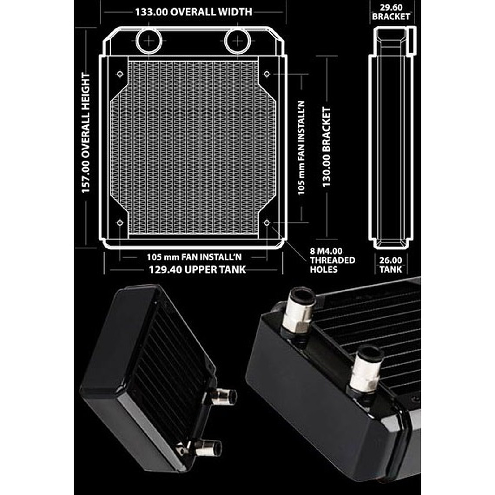 Hardware Labs Black Ice GT Stealth 120