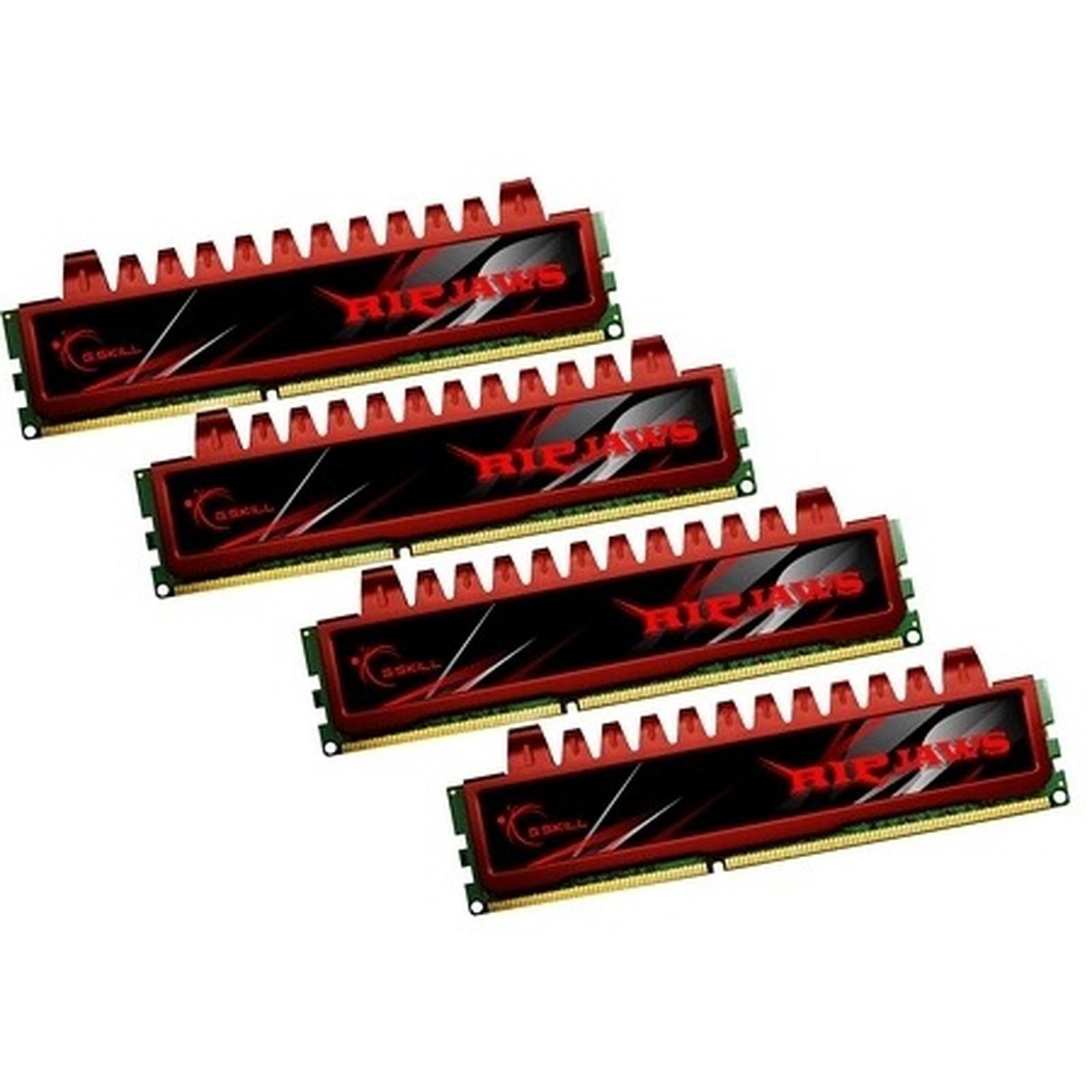 G.Skill RL Series RipJaws 8 Go (kit 4x 2 Go) DDR3 1333 MHz