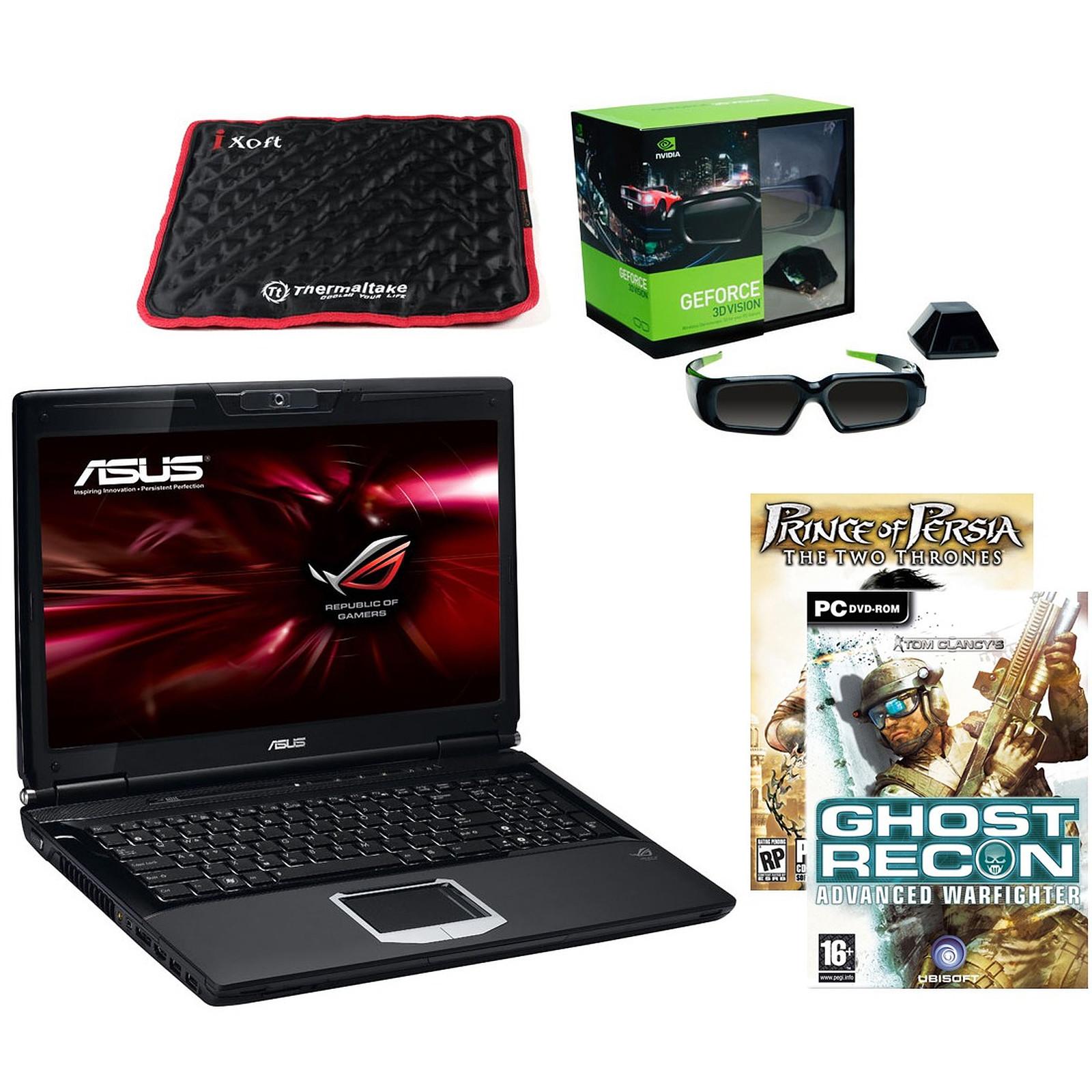 ASUS G51J-IX108V +  lunettes NVIDIA GeForce 3D Vision + Jeux
