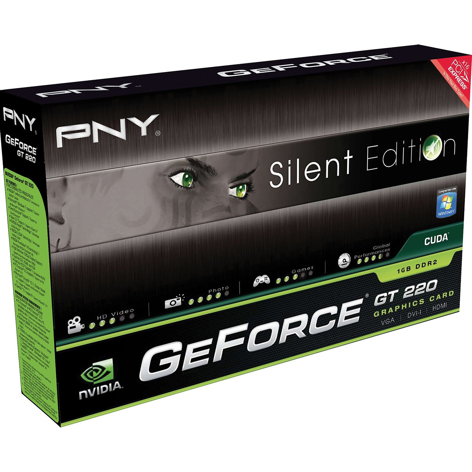 PNY GeForce GT 220 Silent Edition