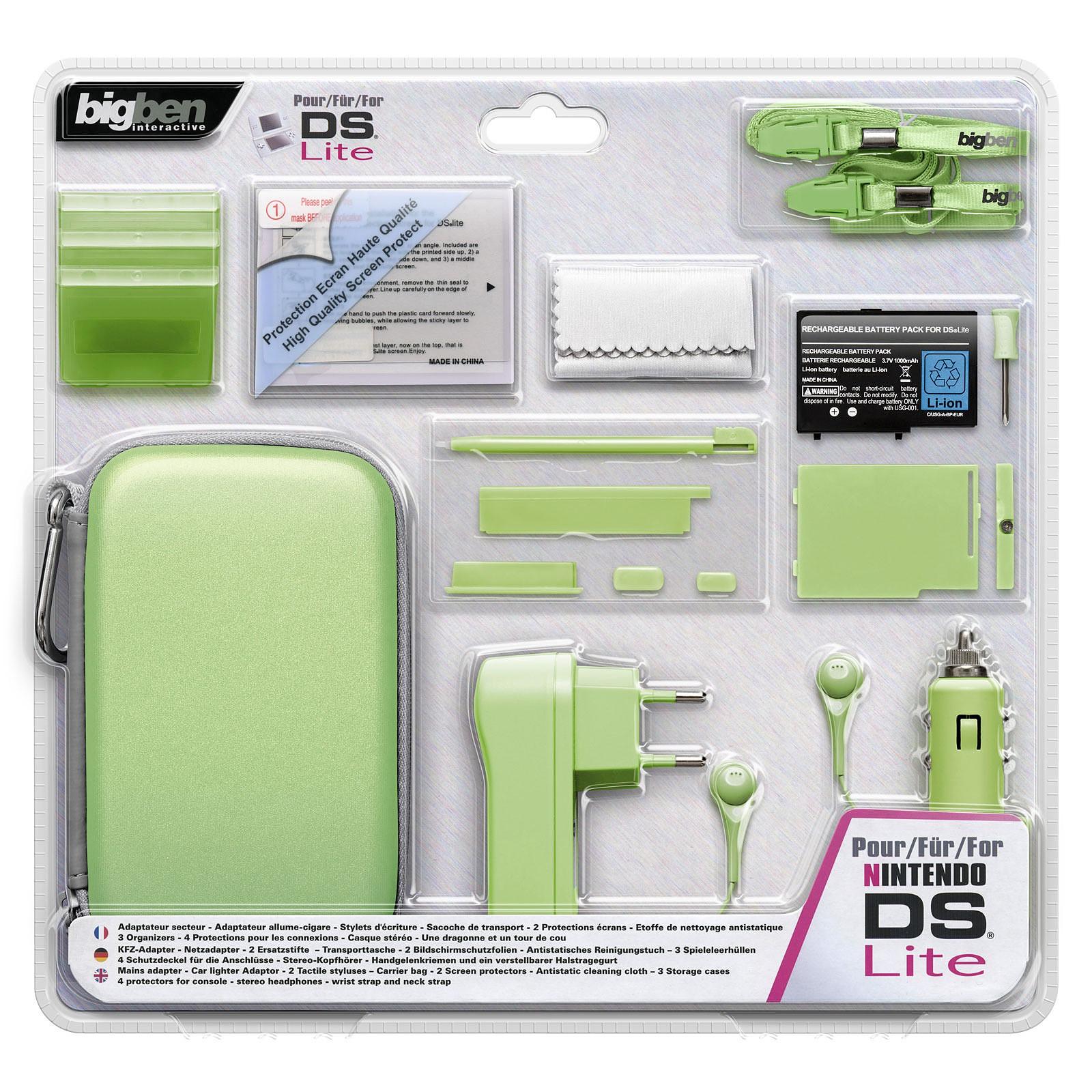 Bigben Pack Accessoires N2 Pour Nintendo Ds Lite Edge