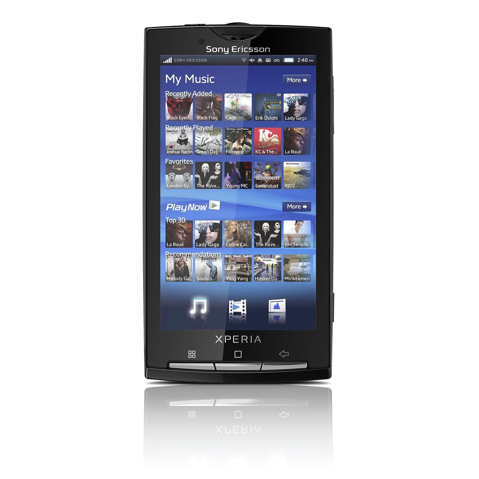 Sony Ericsson Xperia X10 Noir